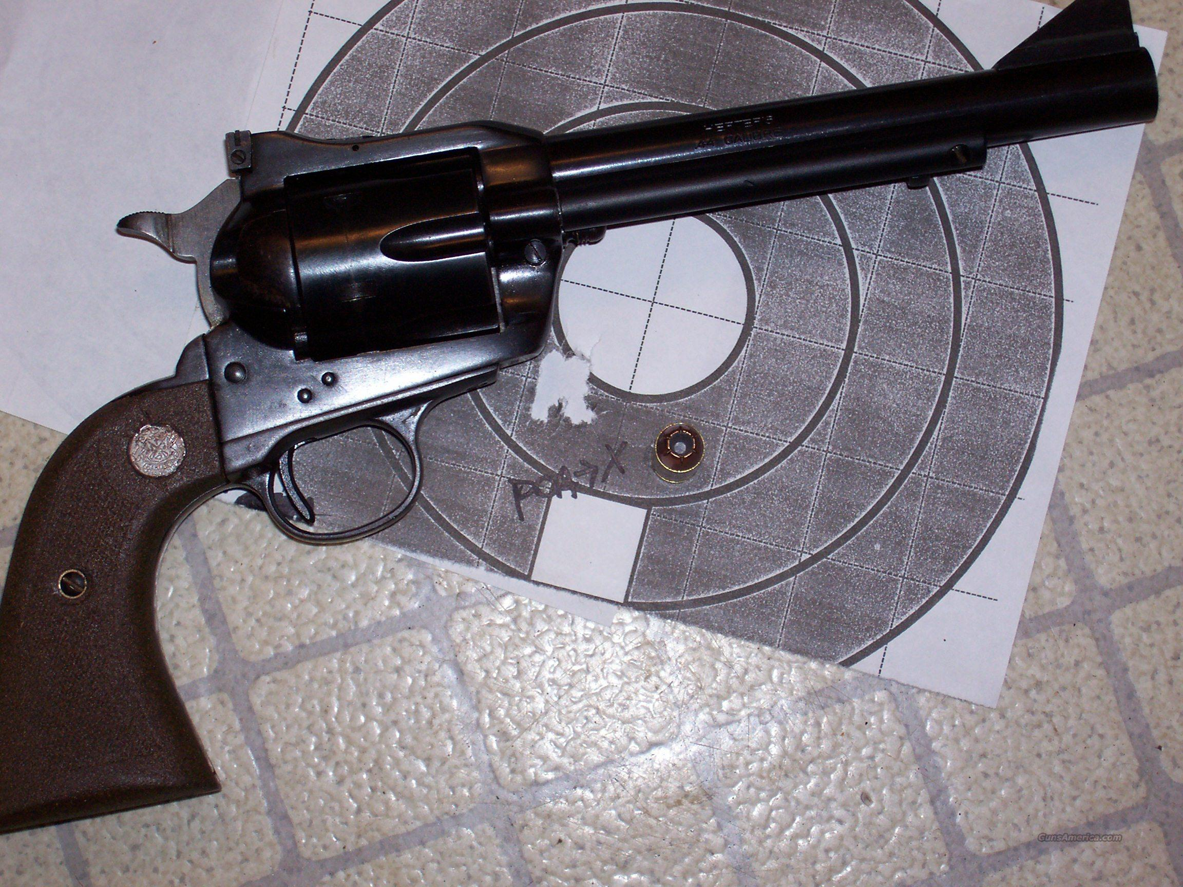 HERTERS 44 CAL SAA Cowboy Shooter  Guns > Pistols > United States Patent Firearms Revolvers/Pistols