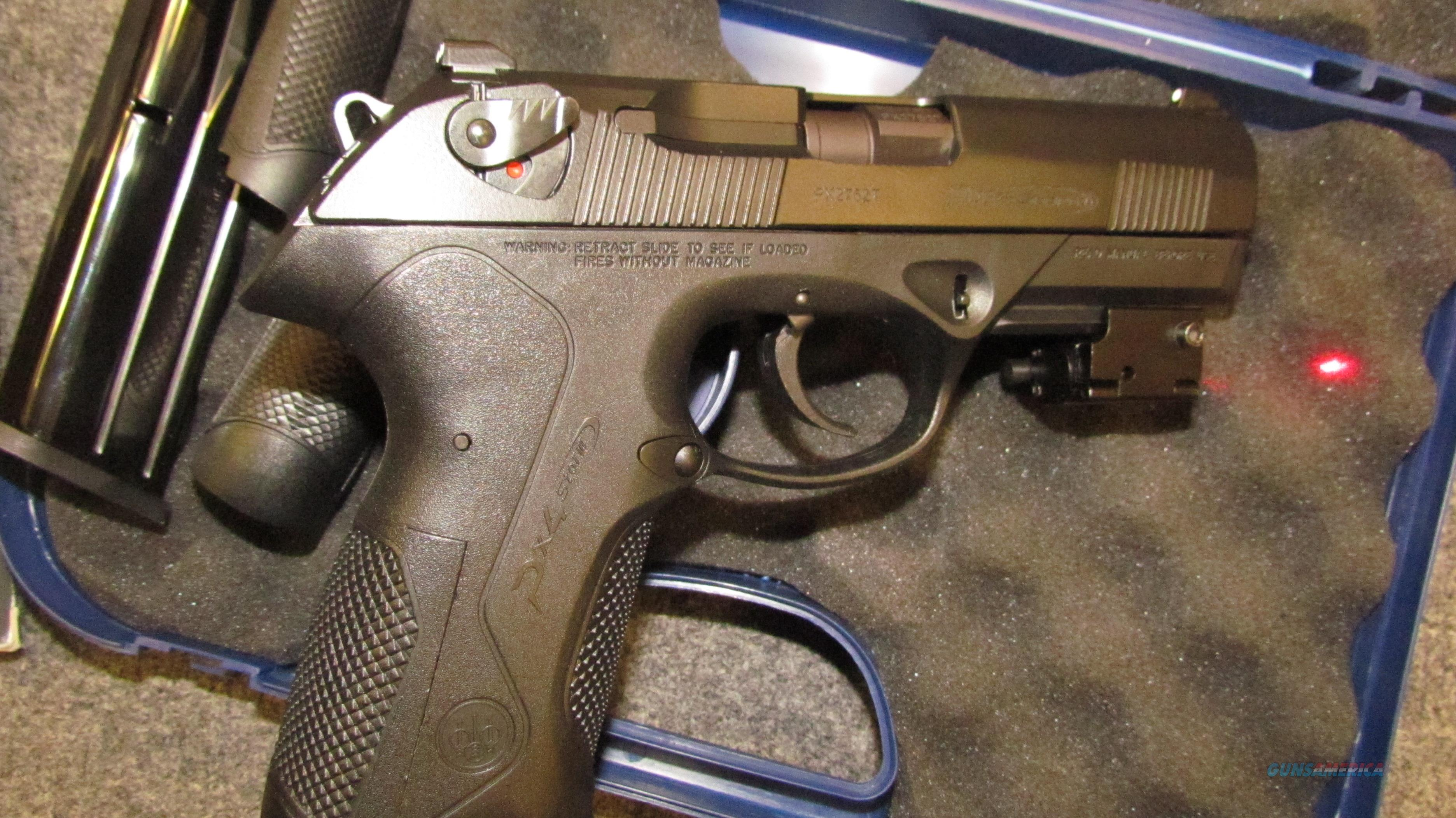 "~! AWESOME !~ CUSTOM BERETTA PX4 STORM! NEW in Box! TACTICAL Mini RED LASER! ""NITE SITES!"" 18 SHOTS! Low recoil ! Exc! REDUCED & O.B.O.!!  Guns > Pistols > Beretta Pistols > Polymer Frame"