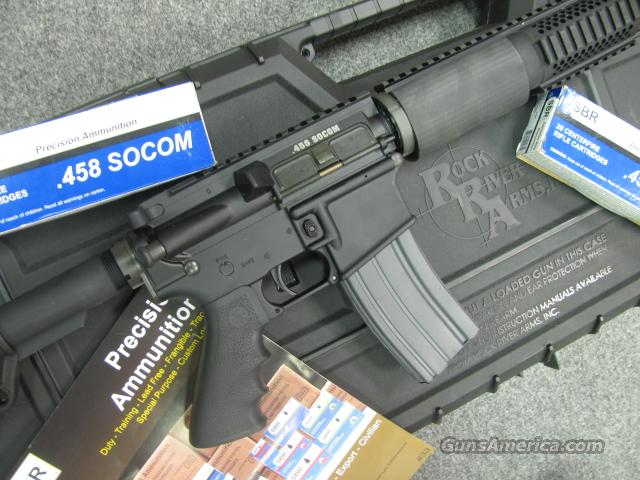 AWESOME! ROCK RIVER ARMS .458 SOCOM!   Guns > Rifles > AR-15 Rifles - Small Manufacturers > Complete Rifle