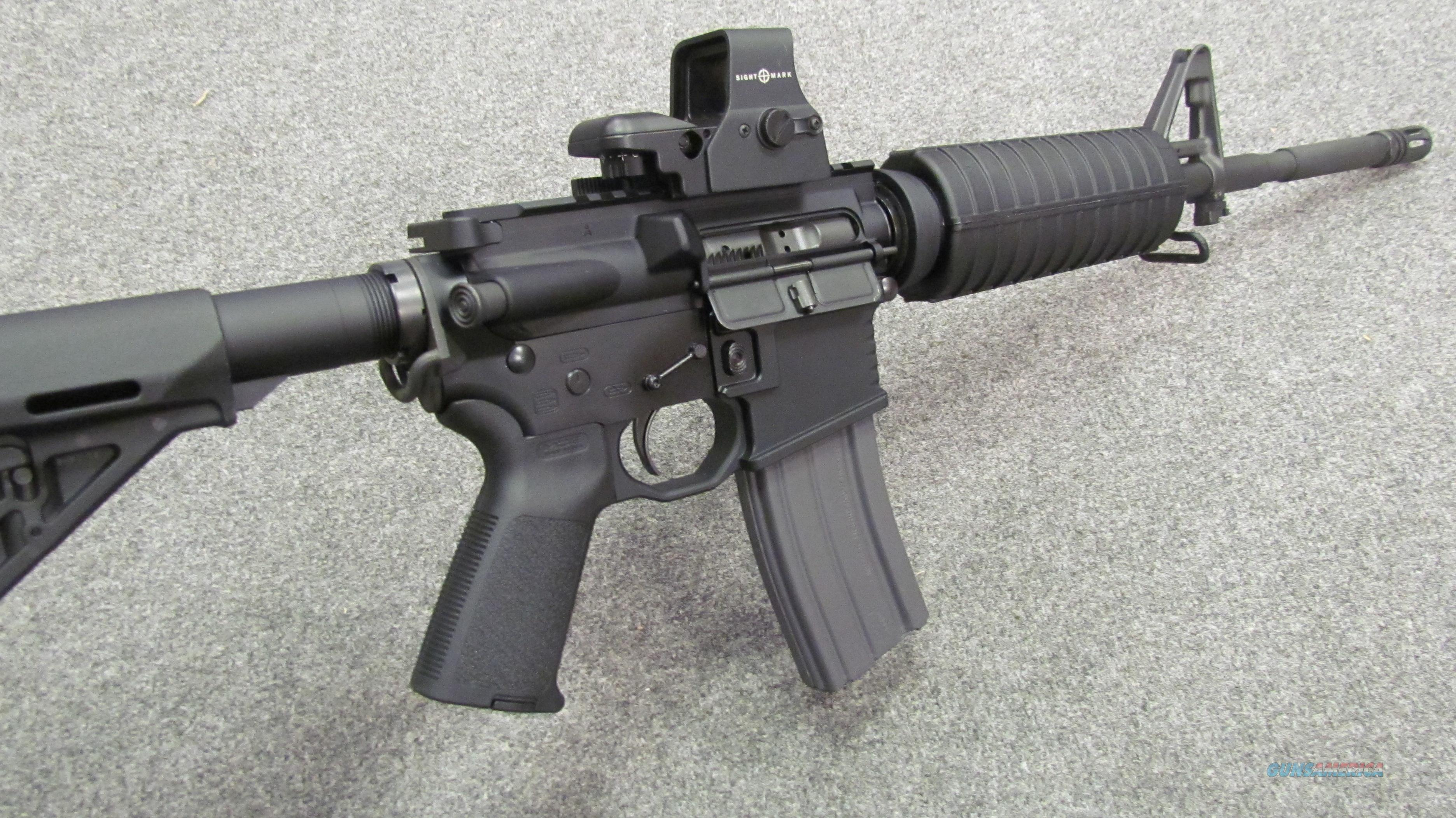 *~! CUSTOM !~*  New! BLACK RAIN  ORDNANCE Carbine w/ Upgrades! Xtra Mags! Cal. 223 /5.56mm NATO! MAGPUL, KNS,RED DOT sight! Light Slim handy! Free ammo!& O.B.O.!!  Guns > Rifles > AR-15 Rifles - Small Manufacturers > Complete Rifle