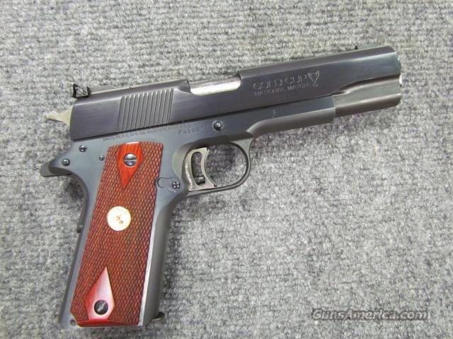 *! STUNNING !* COLT GOLD CUP NATIONAL MATCH! ROSE WOOD Factory Double Diamond grips! REDUCED!! & O.B.O.!!  Guns > Pistols > Colt Automatic Pistols (1911 & Var)