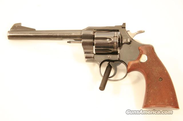 Indiana State Police Colt Officers Model Match  Guns > Pistols > Colt Double Action Revolvers- Modern