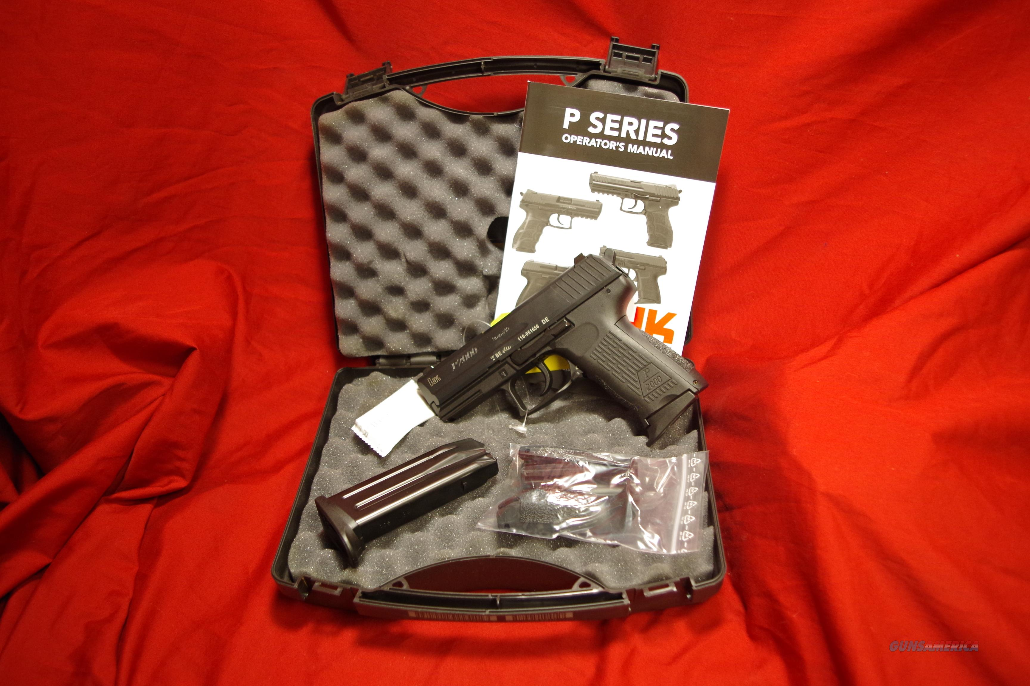 H&K P2000 9mm pistol  Guns > Pistols > Heckler & Koch Pistols > Polymer Frame