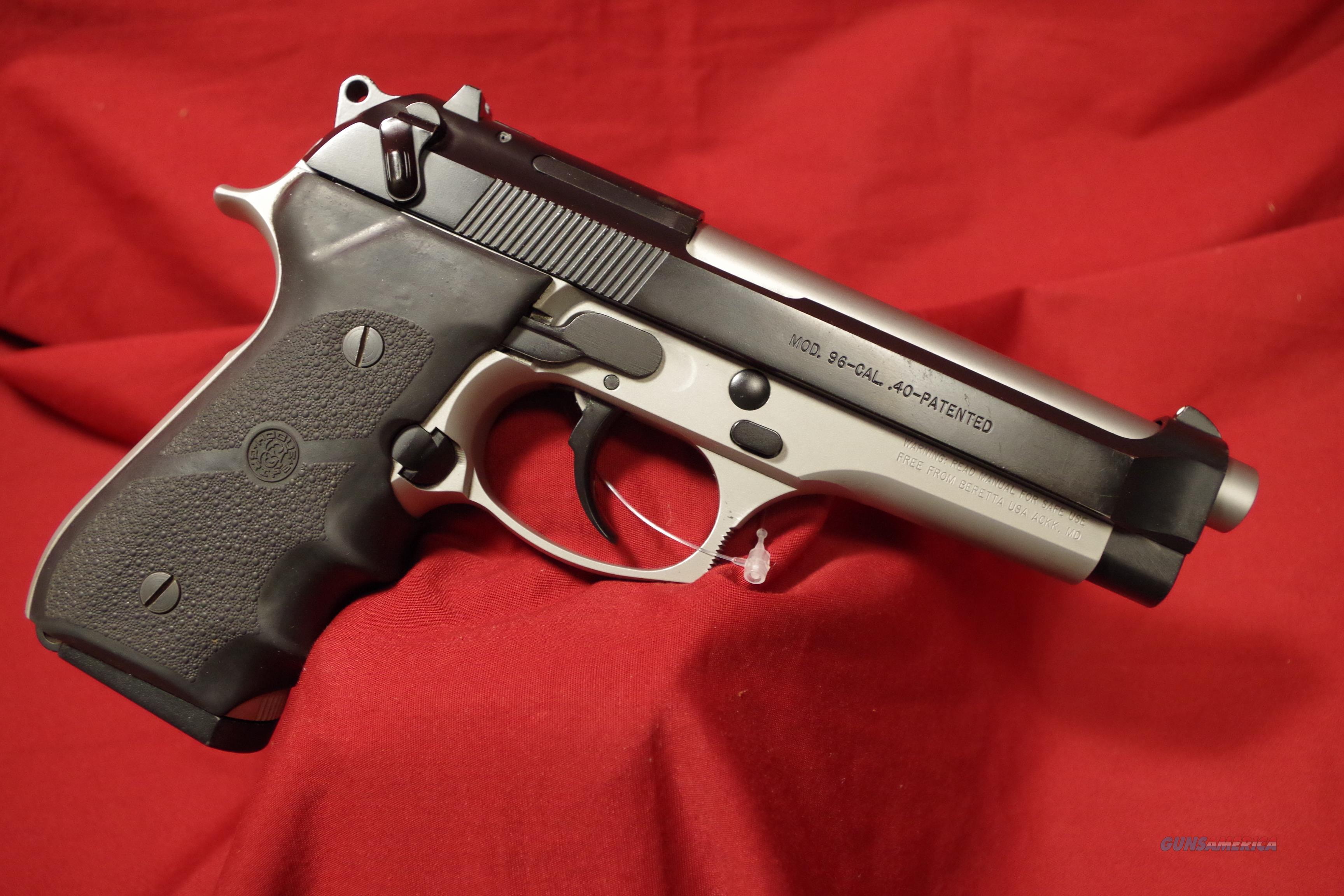 Beretta 96 40cal. usd pistol  Guns > Pistols > Beretta Pistols > Model 96 Series