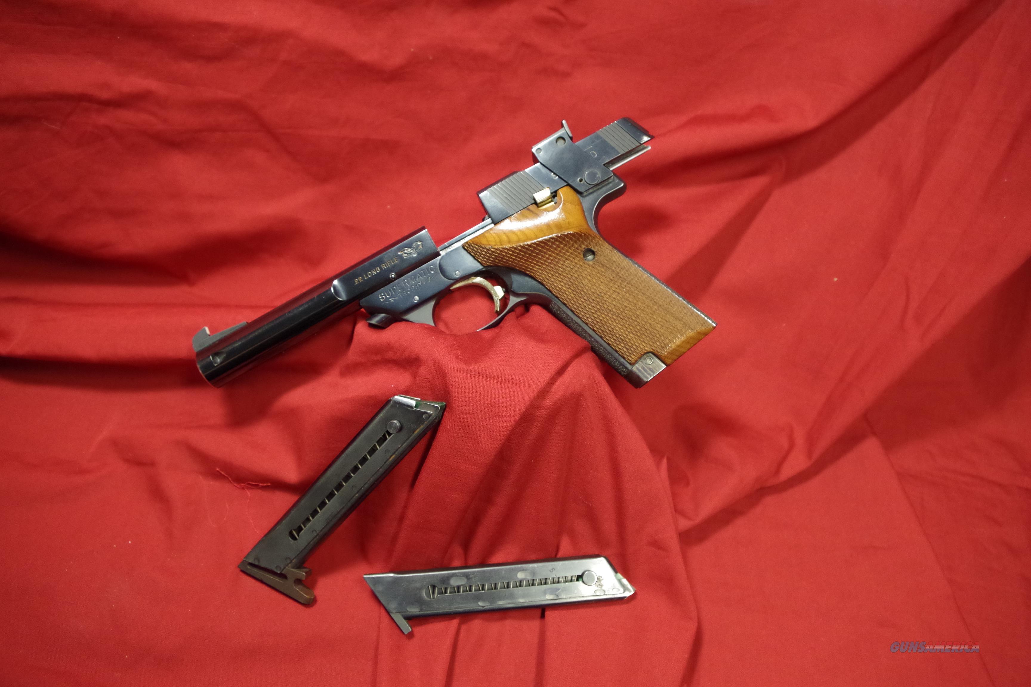 High Standard Model 106 Military  Guns > Pistols > High Standard Pistols