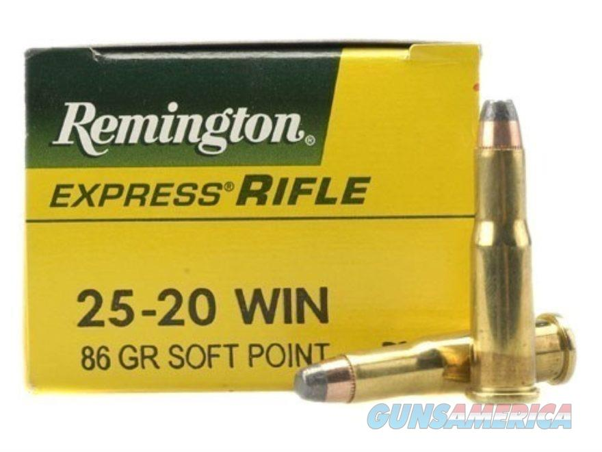 Remington 25-20 Win 86gr SP  Non-Guns > Ammunition