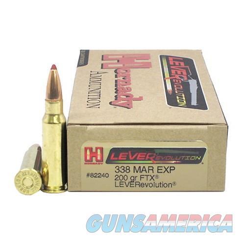 Hornady 338 MAR EXP 200 gr FTX  Non-Guns > Ammunition