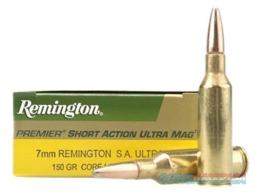 Remington 7mm Rem SA Ultra mag 150gr Core-Lokt PSP  Non-Guns > Ammunition