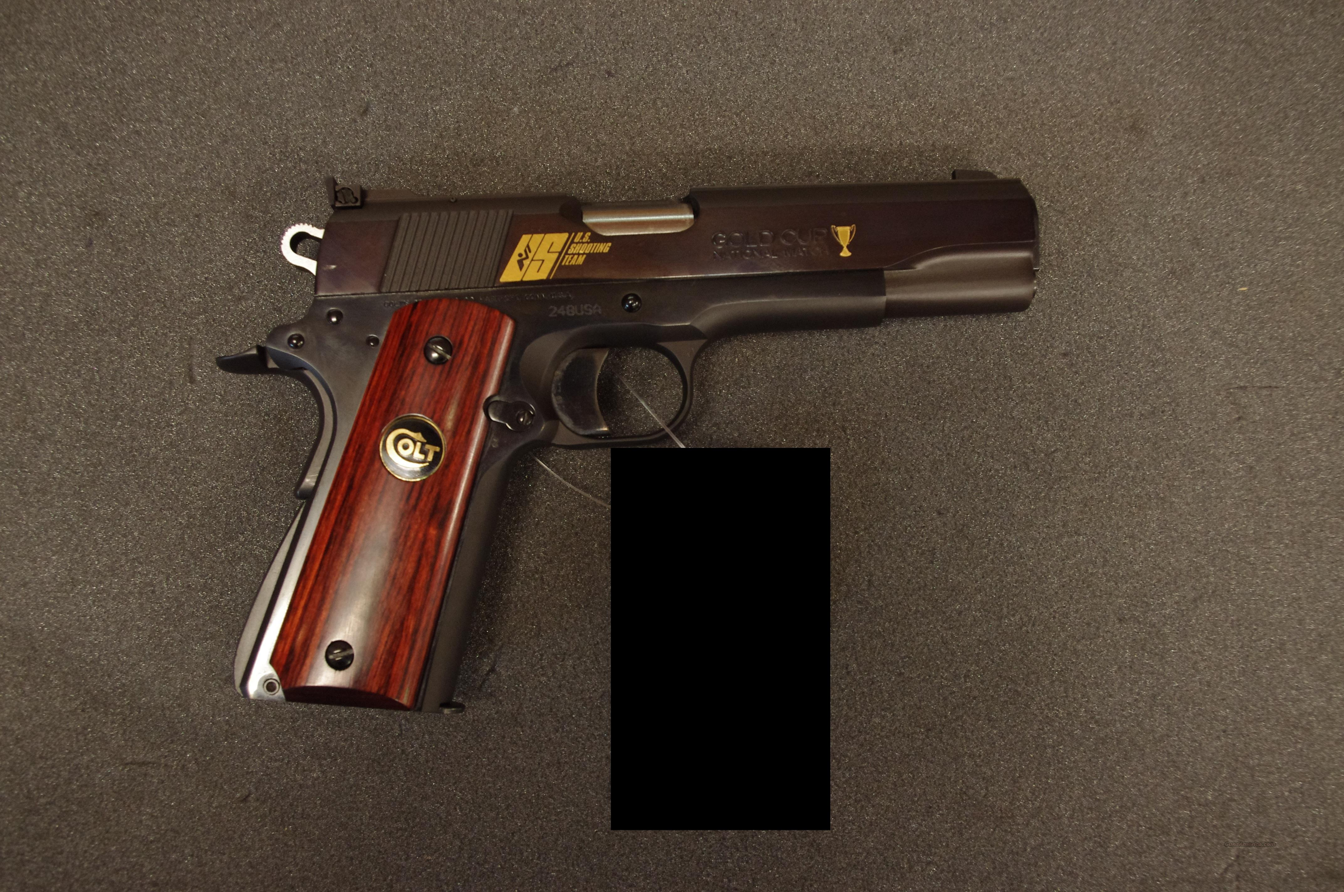 NIB Colt US Shooting Team National Match  Guns > Pistols > Colt Automatic Pistols (1911 & Var)