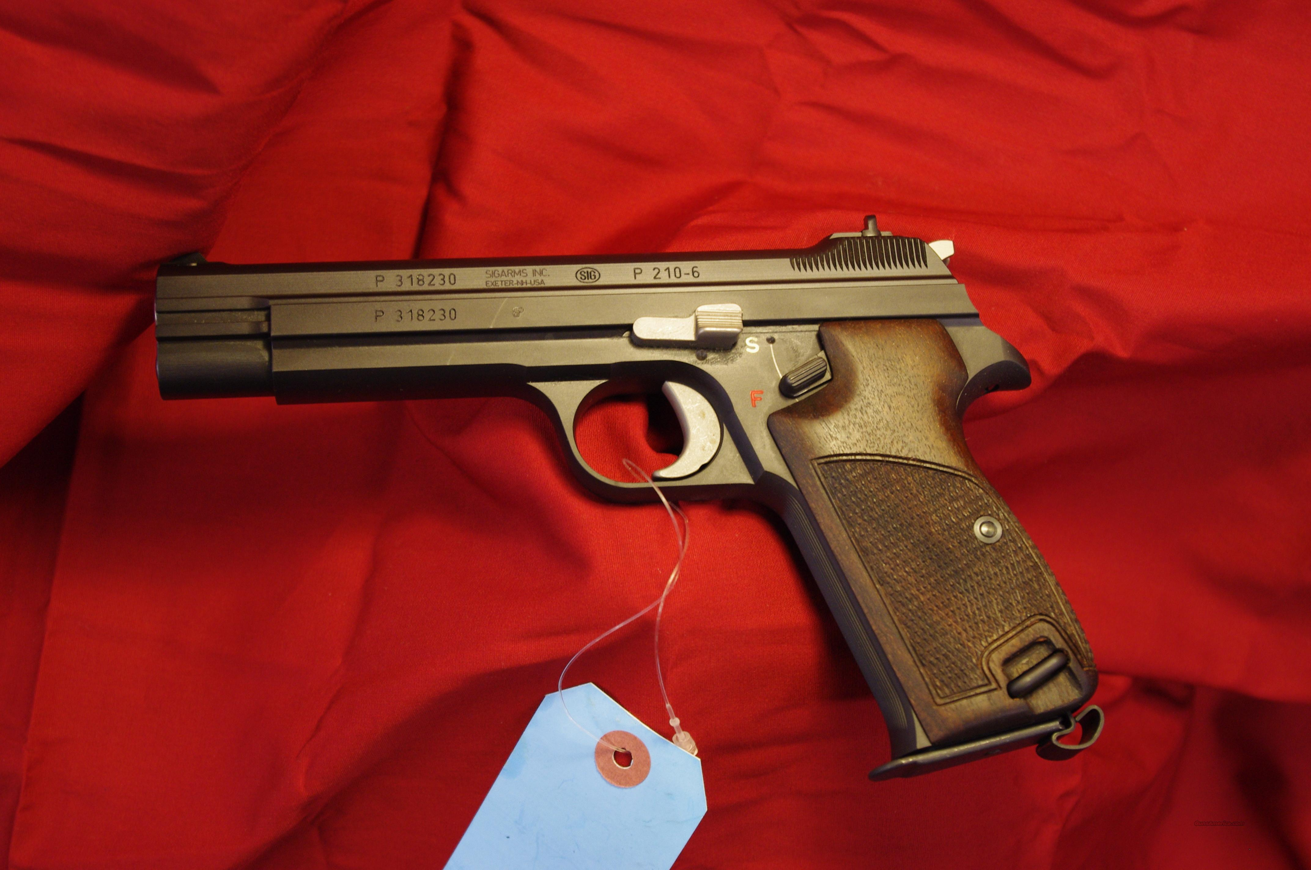 Sig Sauer P210-6  Guns > Pistols > Sig - Sauer/Sigarms Pistols > Other