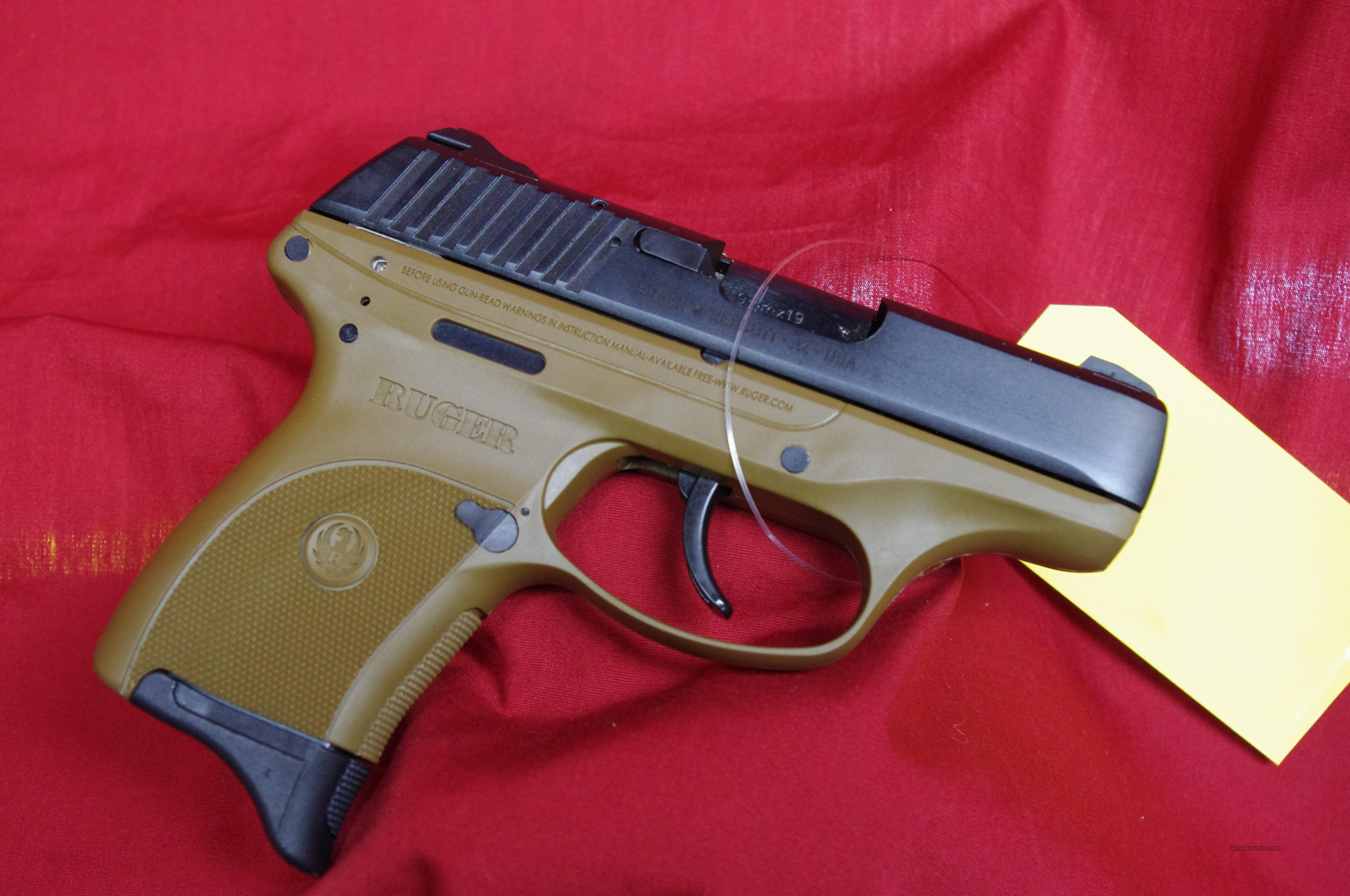 Ruger LC9 in Flat Dark Earth (FDE)!!!  Guns > Pistols > Ruger Semi-Auto Pistols > LC9
