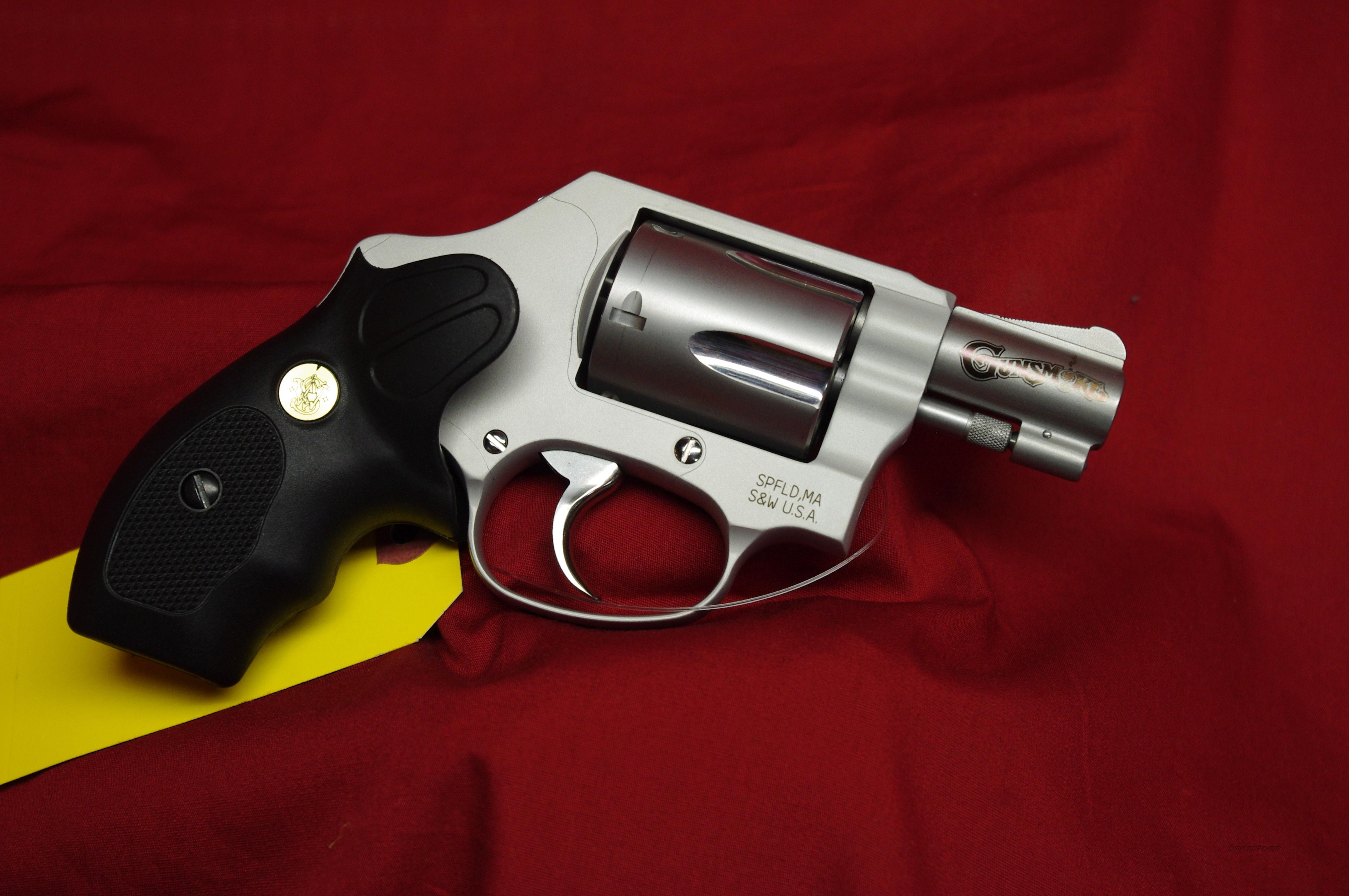 Smith & Wesson 637 Gunsmoke!!  Guns > Pistols > Smith & Wesson Revolvers > Pocket Pistols