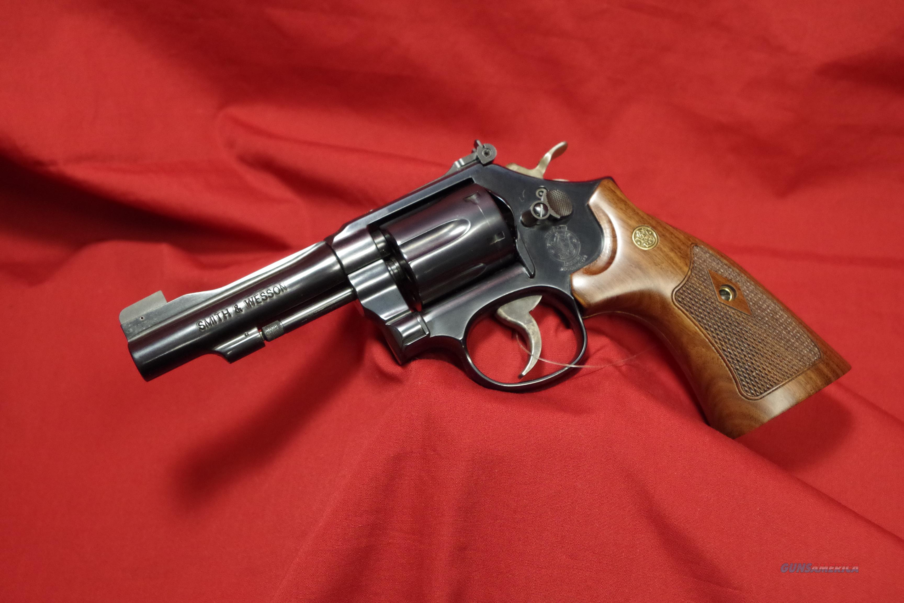 Smith & Wesson M48-7 .22WMR Revolver  Guns > Pistols > Smith & Wesson Revolvers > Med. Frame ( K/L )