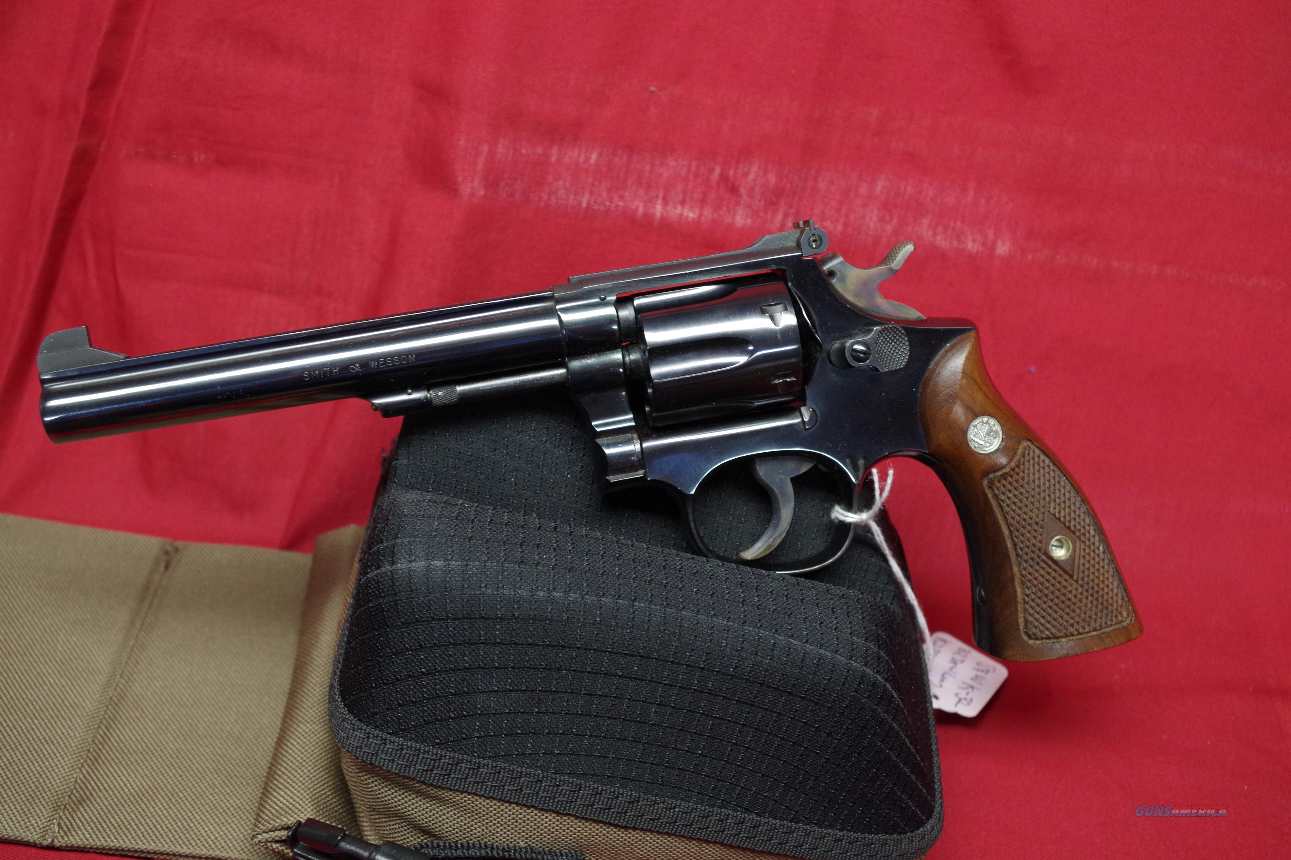 SMITH & WESSON K32 MASTERPIECE WITH BOX!!!  Guns > Pistols > Smith & Wesson Revolvers > Full Frame Revolver