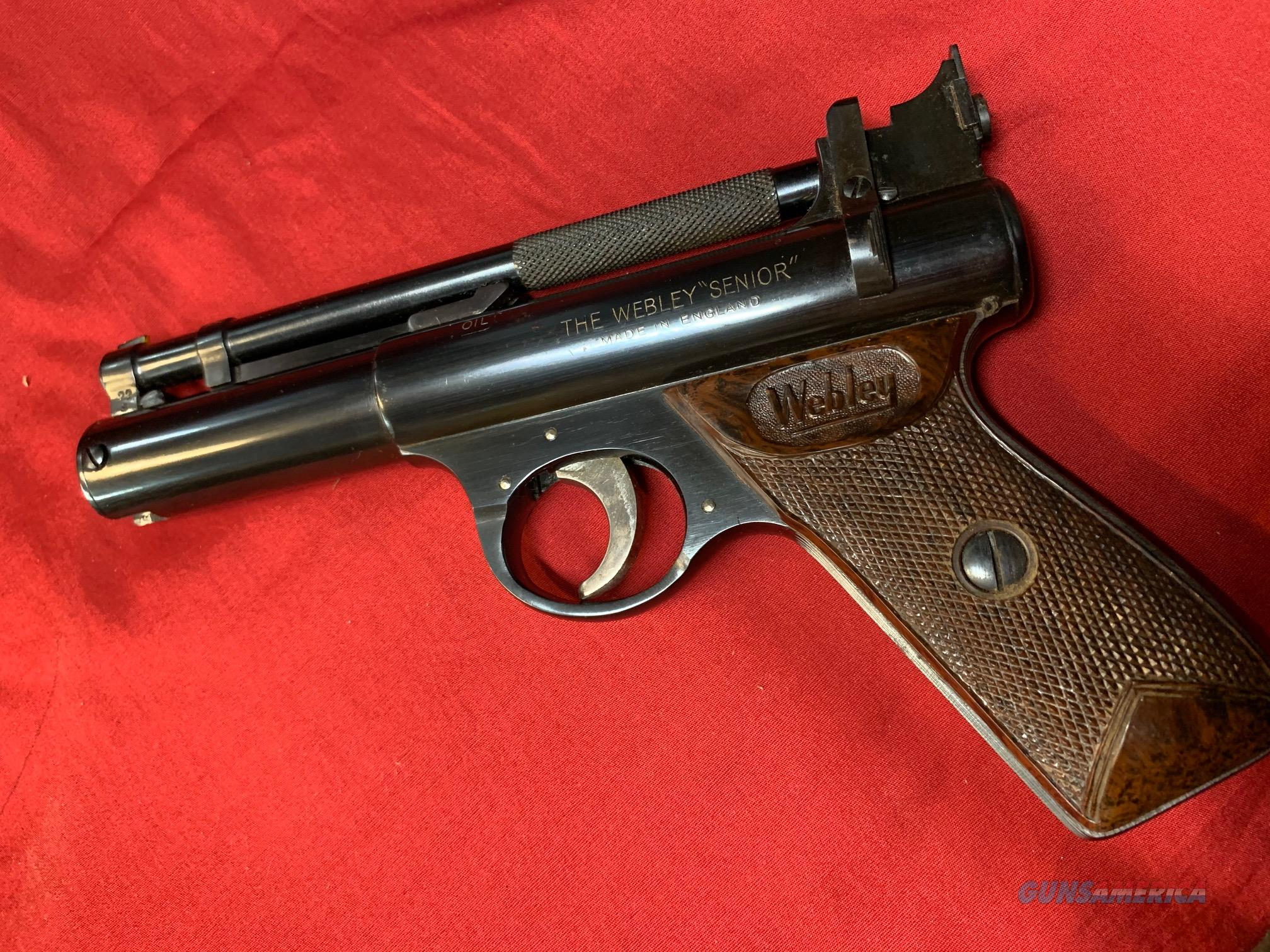 "Webley ""Senior"" Air Pistol  Non-Guns > Air Rifles - Pistols > Vintage"