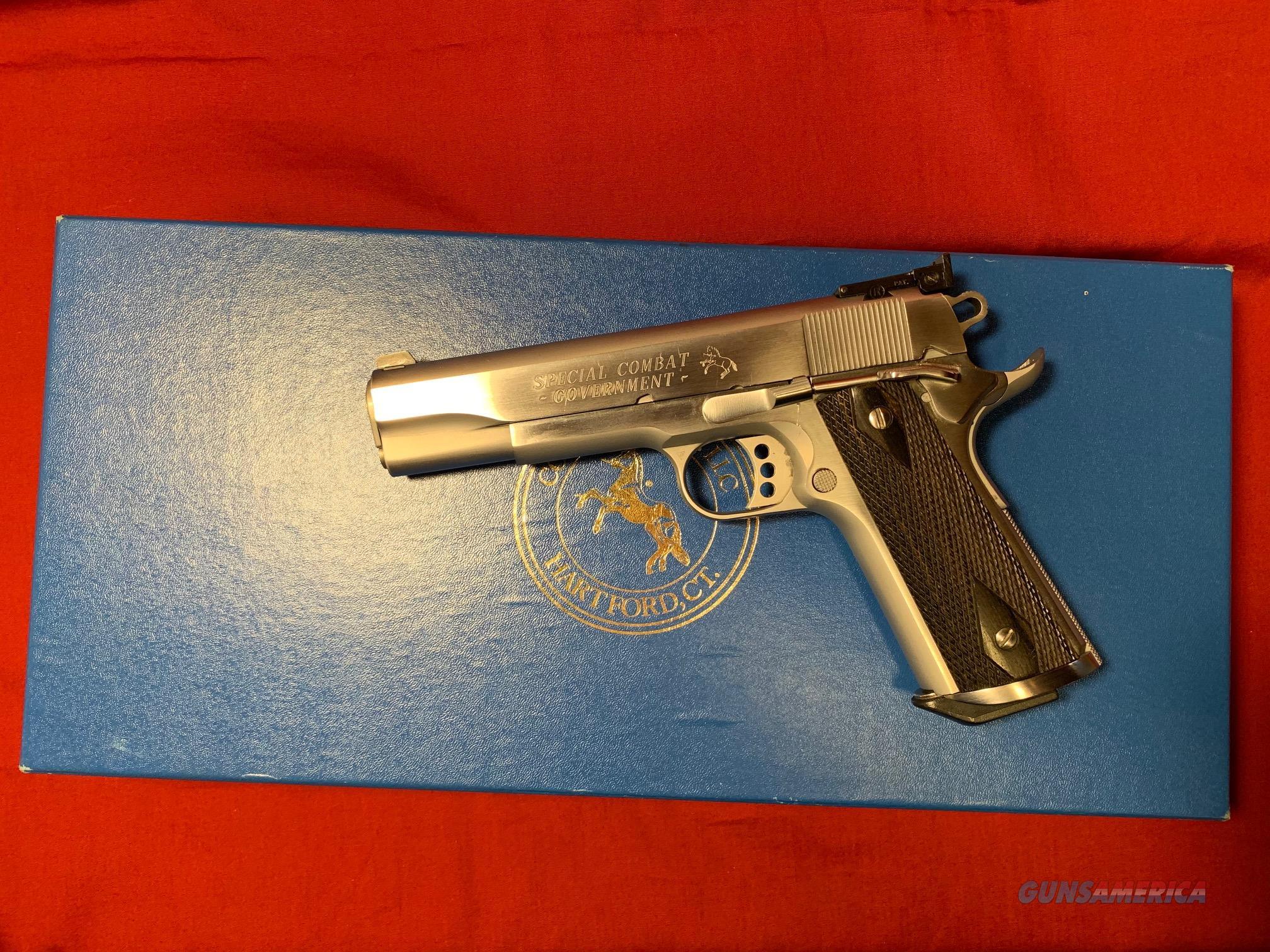 Colt Special Combat Government  Guns > Pistols > Colt Automatic Pistols (1911 & Var)