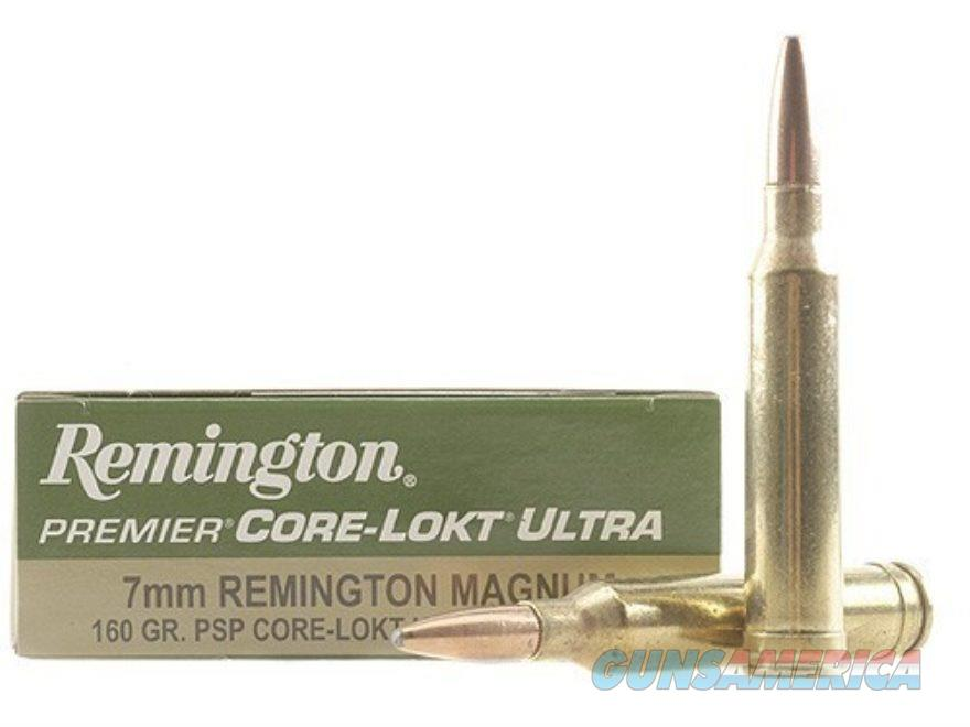 Remington 7mm Rem SA Ultra Mag 160gr Core-Lokt PSP  Non-Guns > Ammunition