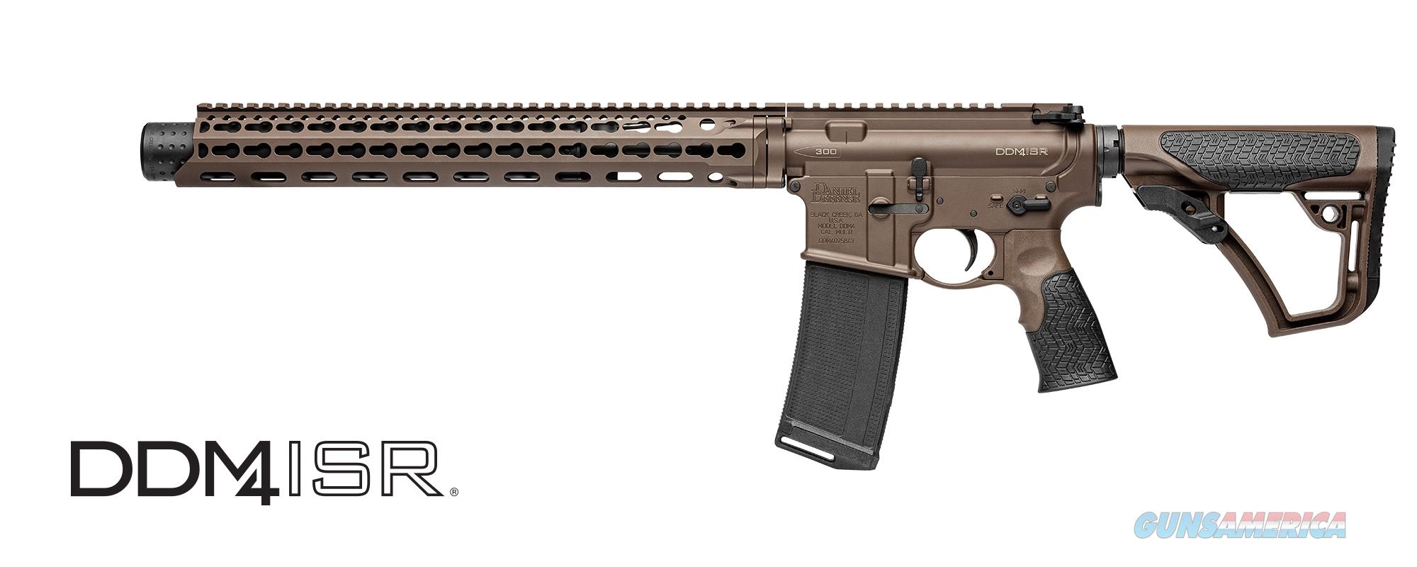 DANIELS DEFENSE DDM4 ISR CLASS 3 300 BLACKOUT!!!  Guns > Rifles > Daniel Defense > Complete Rifles