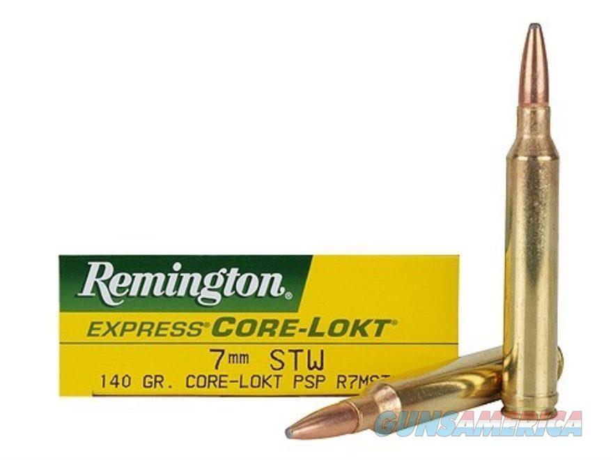 Remington 7mm STW 140gr Core-Lokt PSP  Non-Guns > Ammunition