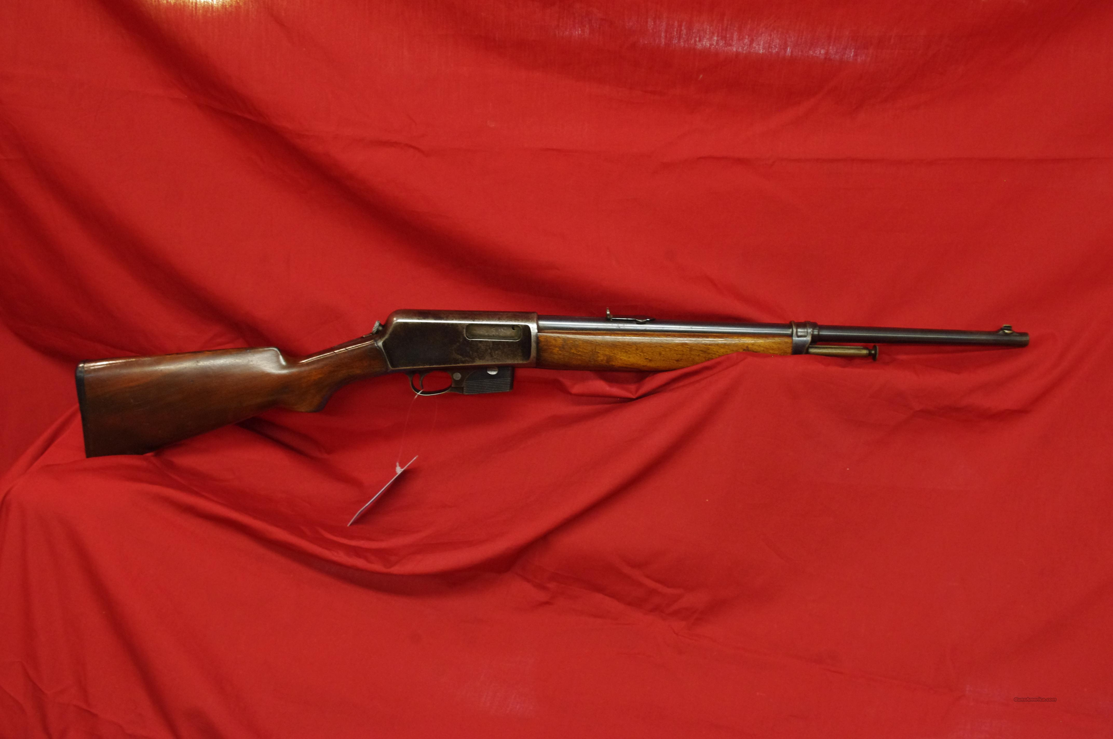 Winchester Model 7 made in 1918!  Guns > Rifles > Winchester Rifles - Modern Bolt/Auto/Single > Autoloaders