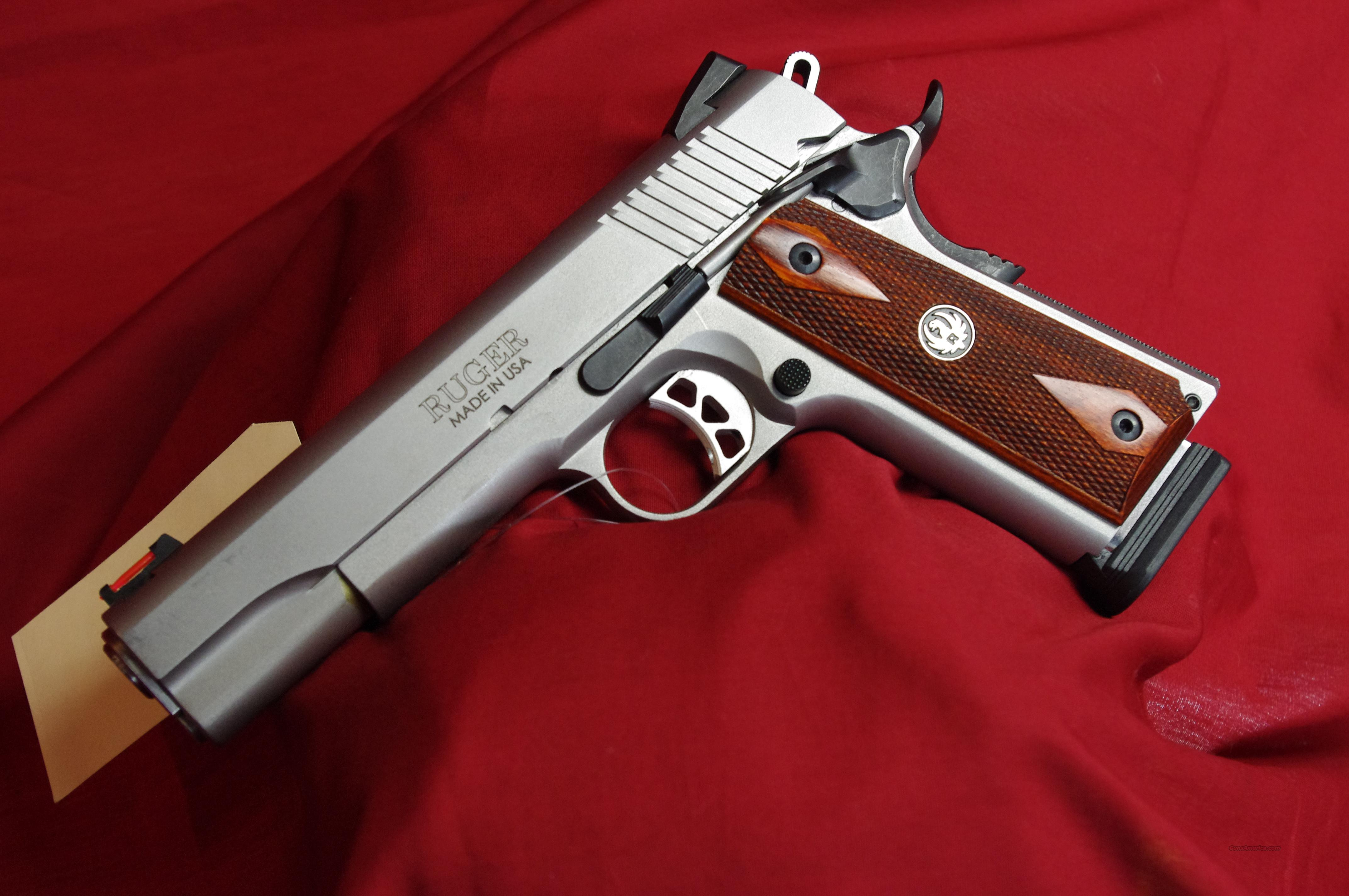 Ruger SR1911 Used with Front Fiber Optic Sight!  Guns > Pistols > Ruger Semi-Auto Pistols > SR9 & SR40