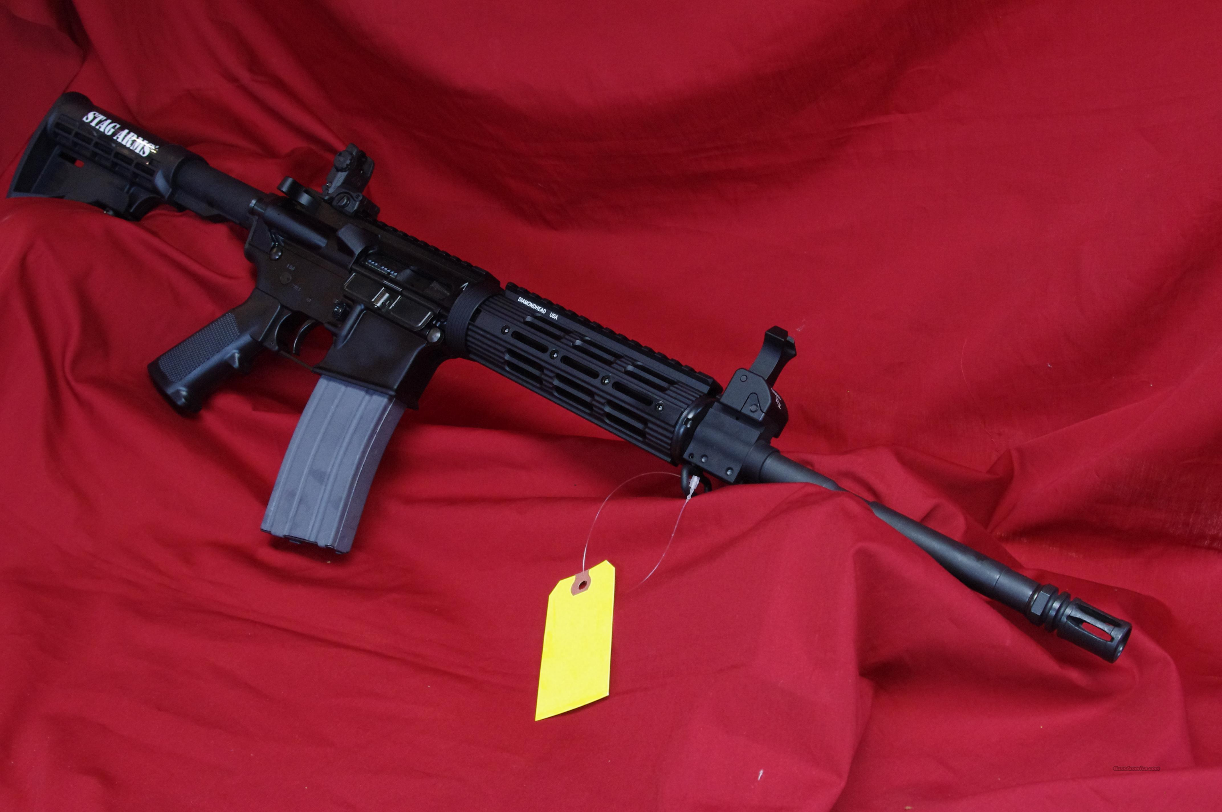 Stag Arms Model 3 W/Flip-Up Sights!  Guns > Rifles > Stag Arms > Complete Rifles