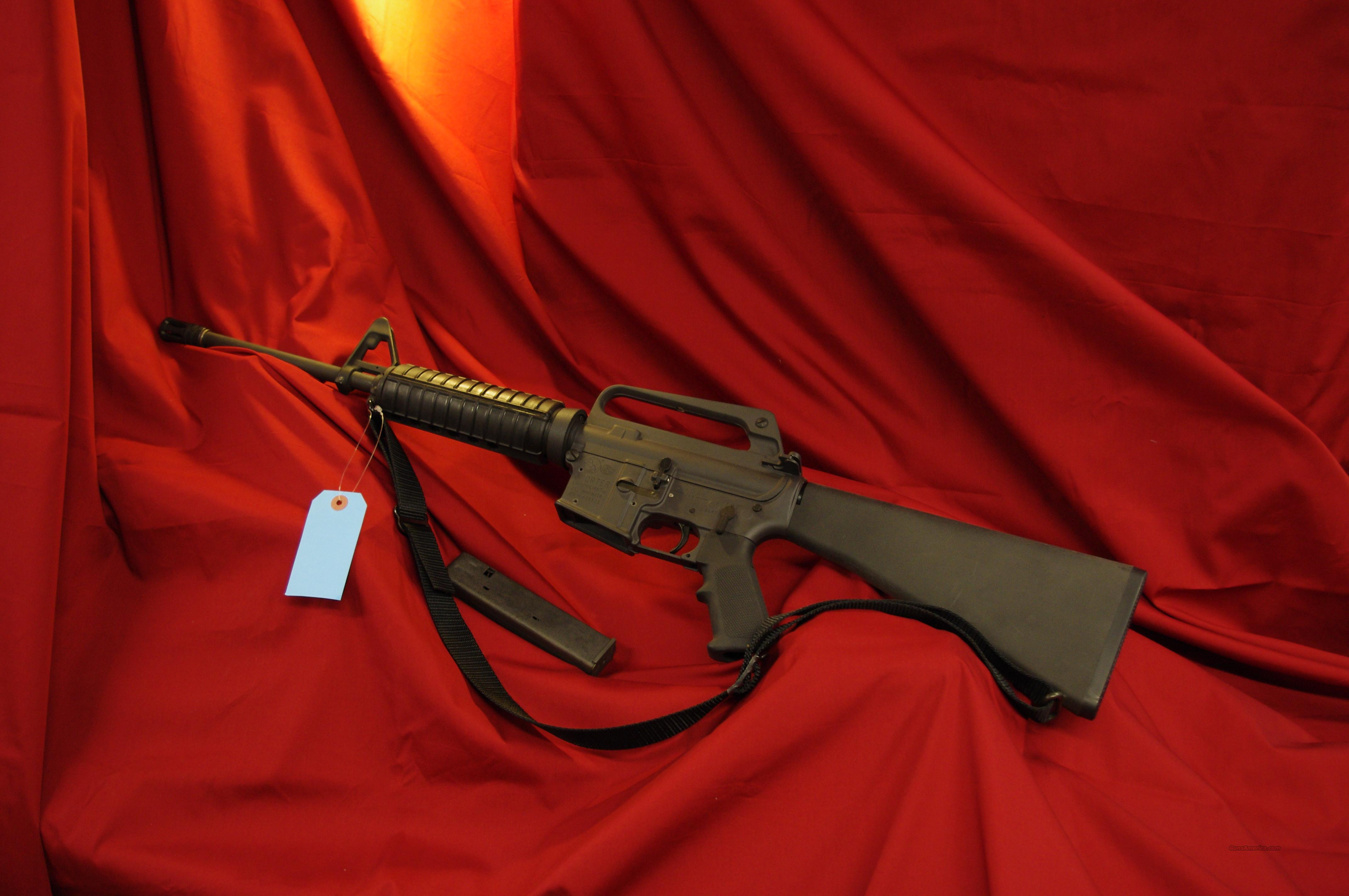 Pre-Ban Colt Sporter AR in 9mm  Guns > Rifles > Colt Military/Tactical Rifles