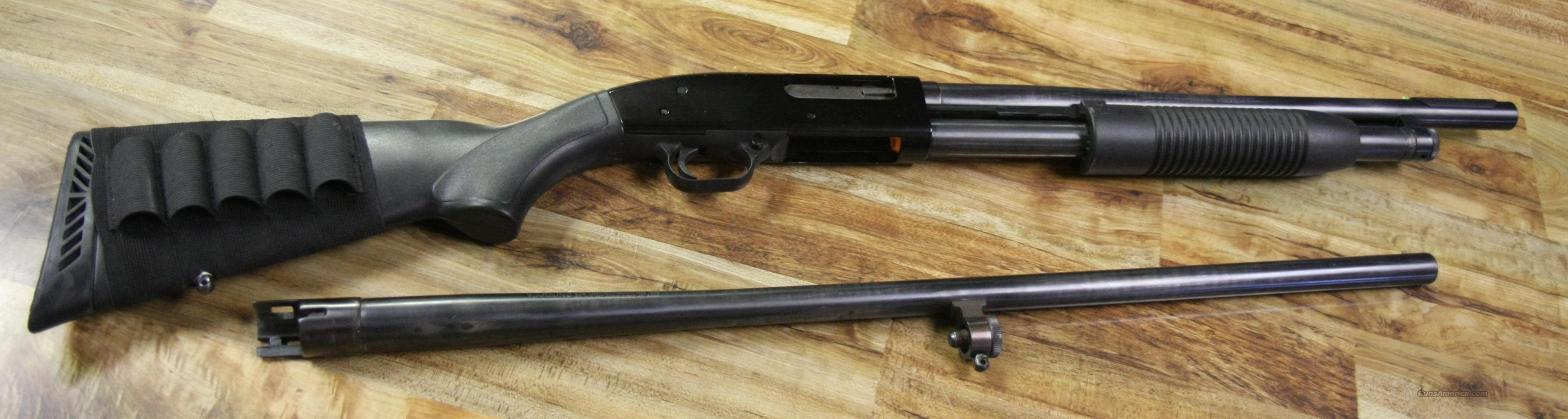 "Mossberg Maverick 88 12 gauge with 18.5"" & 28"" barrels  Guns > Shotguns > Mossberg Shotguns > Pump > Tactical"