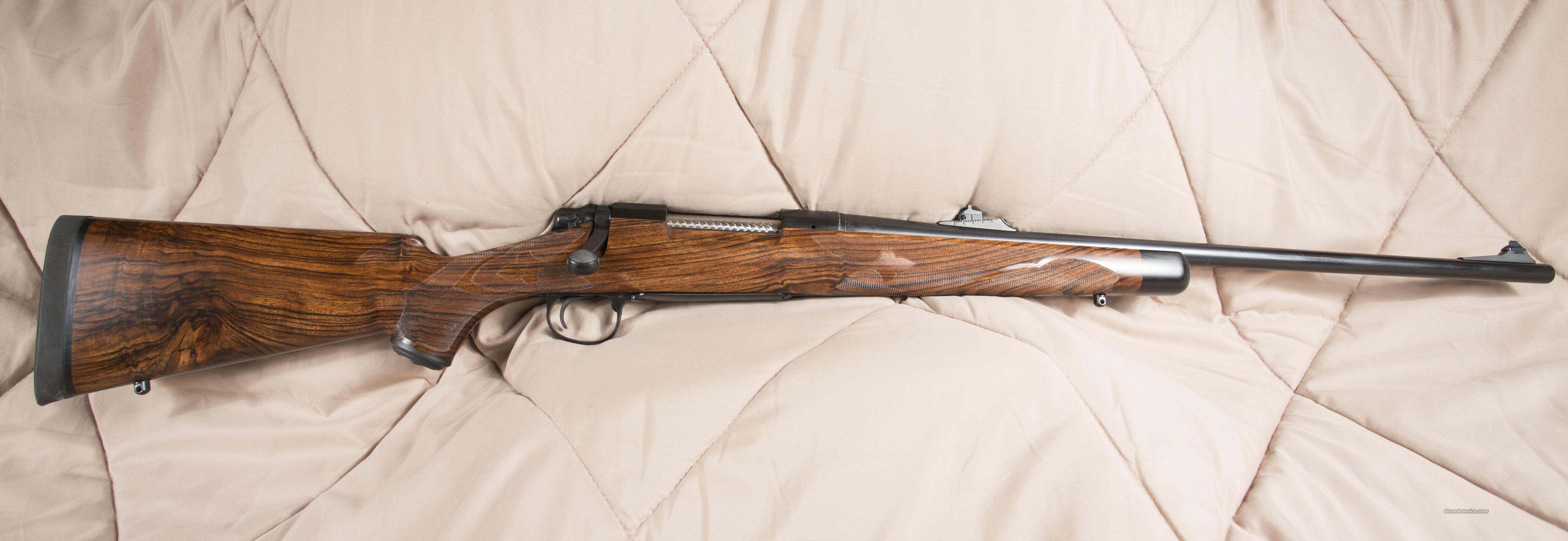 Special order custom built Model 700 Remington in  375 H&H,   Never scoped or fired.  Guns > Rifles > Remington Rifles - Modern > Double Rifles