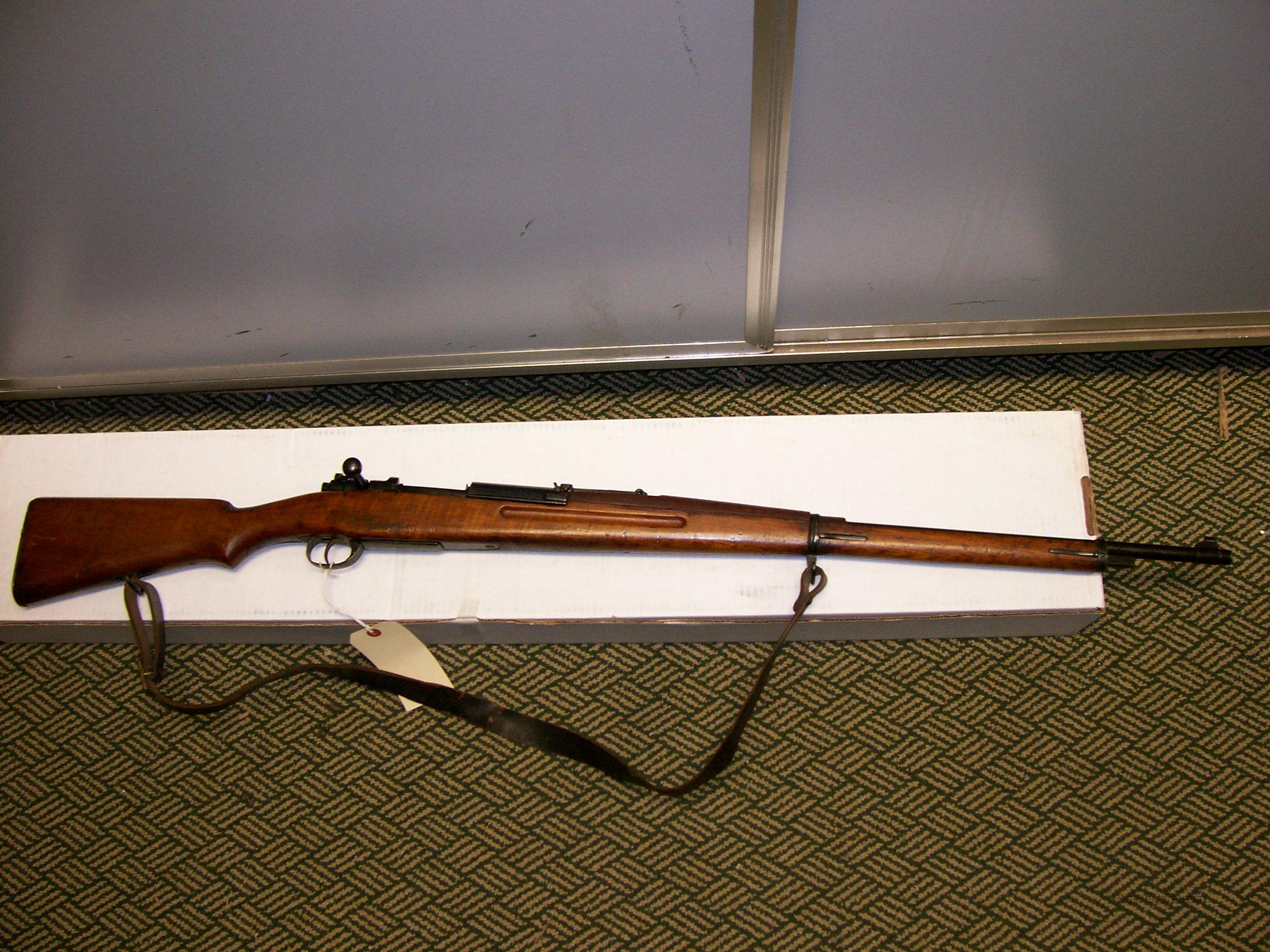 Siamese Mauser 1902 Type 45 8X56  Guns > Rifles > Mauser Rifles > German