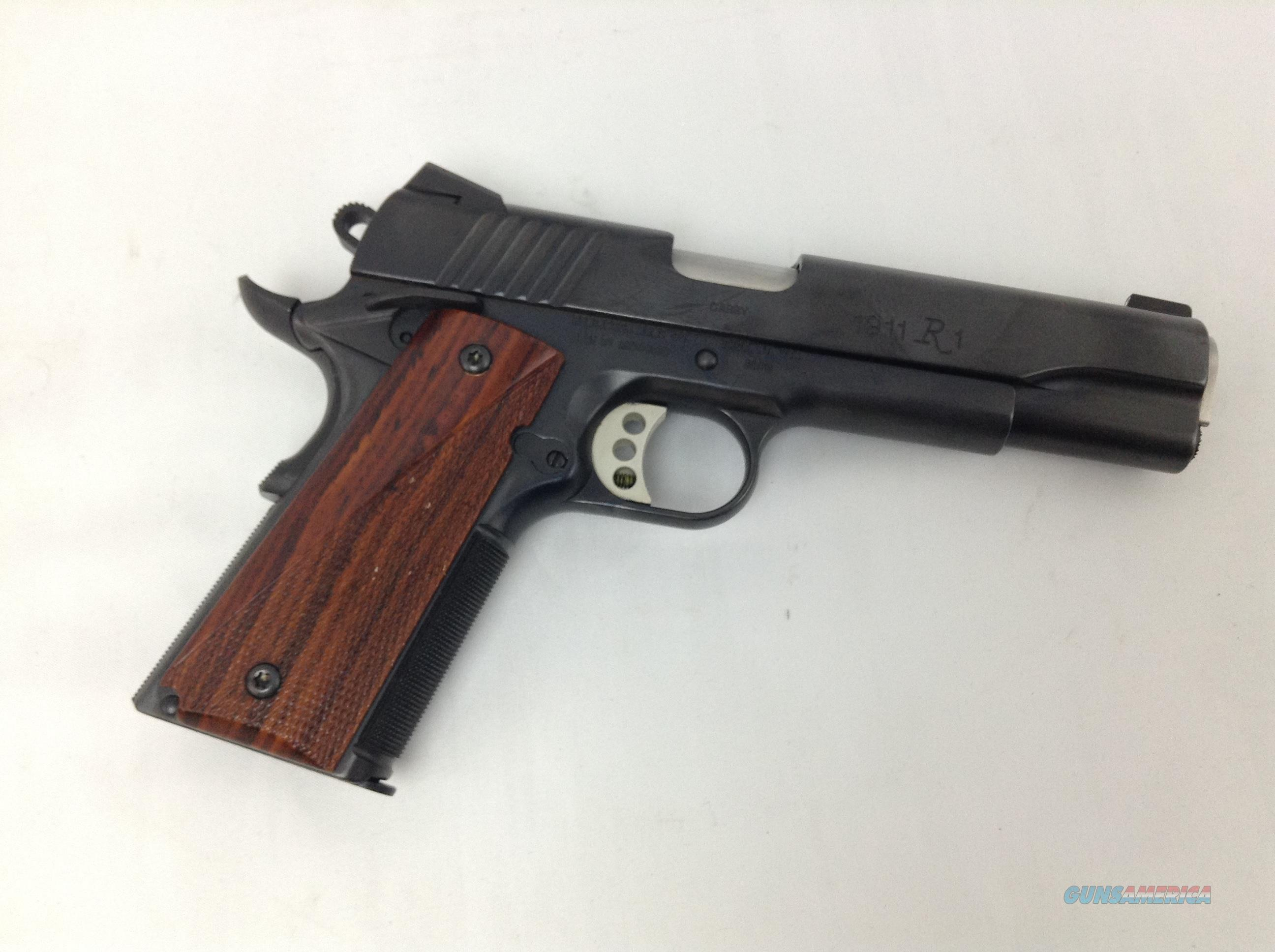 Remington 1911 R1 Carry .45ACP  Guns > Pistols > Remington Pistols - Modern > 1911