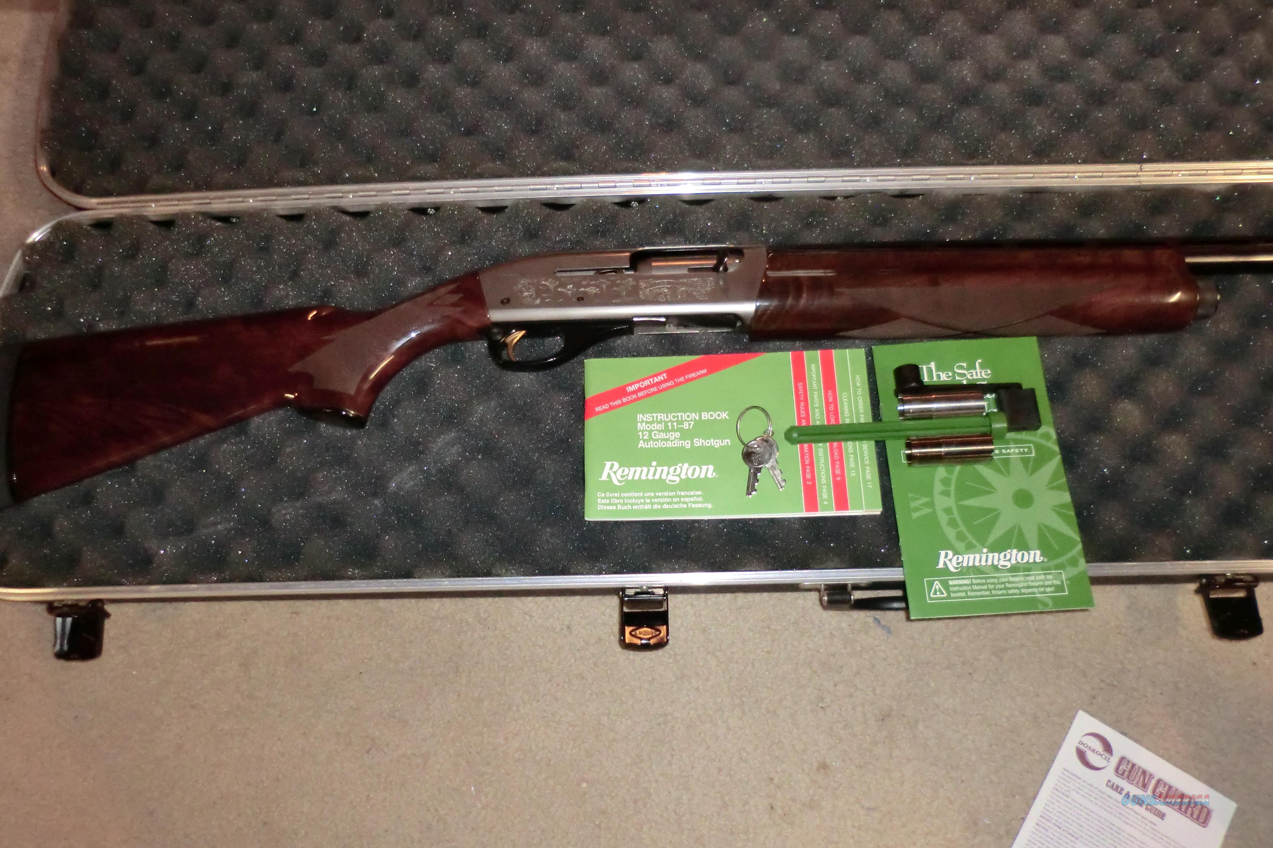 Remington 11-87 12ga  Guns > Shotguns > Remington Shotguns  > Autoloaders > Trap/Skeet