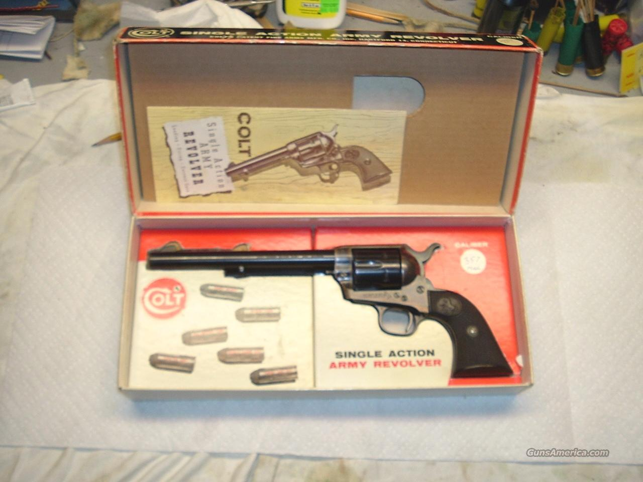 Colt 2nd Gen. .357 with Box & Papers  Guns > Pistols > Colt Single Action Revolvers - 2nd Gen.