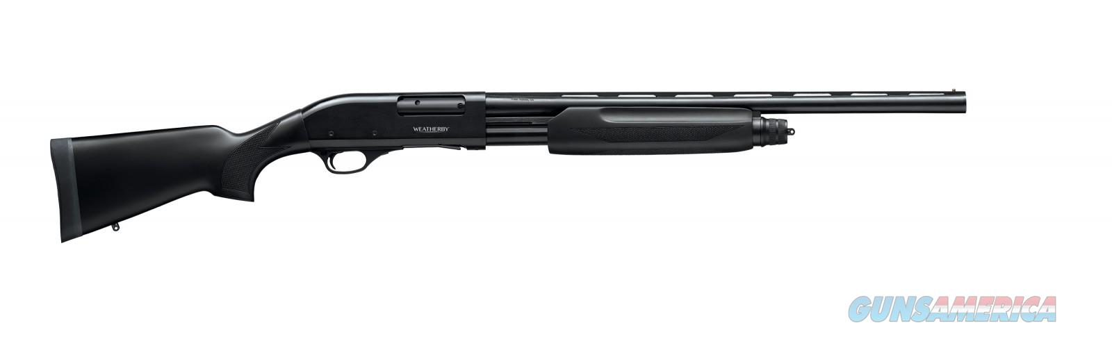 "Weatherby PA-08 Compact 22"" Synthetic Pump 20 Ga PA08SY2022PGM  Guns > Shotguns > Weatherby Shotguns > Pump"