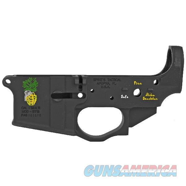 Spike's Tactical Pineapple Grenade AR-15 Lower Receiver STLS032-CFA  Guns > Rifles > Spikes Tactical Rifles