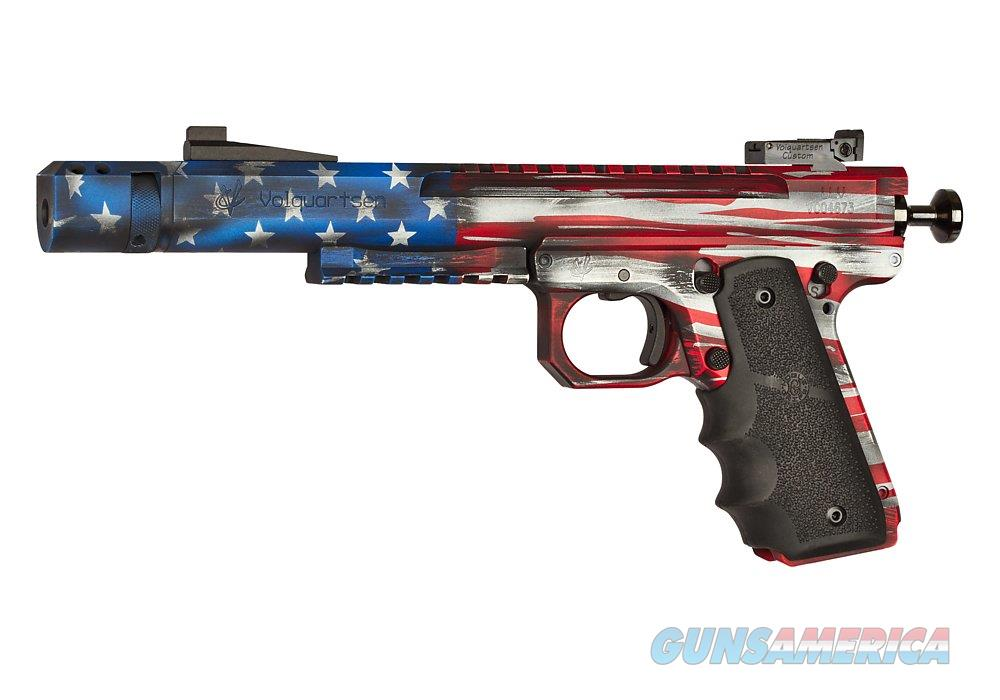 "Volquartsen Scorpion American Flag .22 LR 6"" 10 Rds VC45SN6USHGCTS  Guns > Pistols > V Misc Pistols"