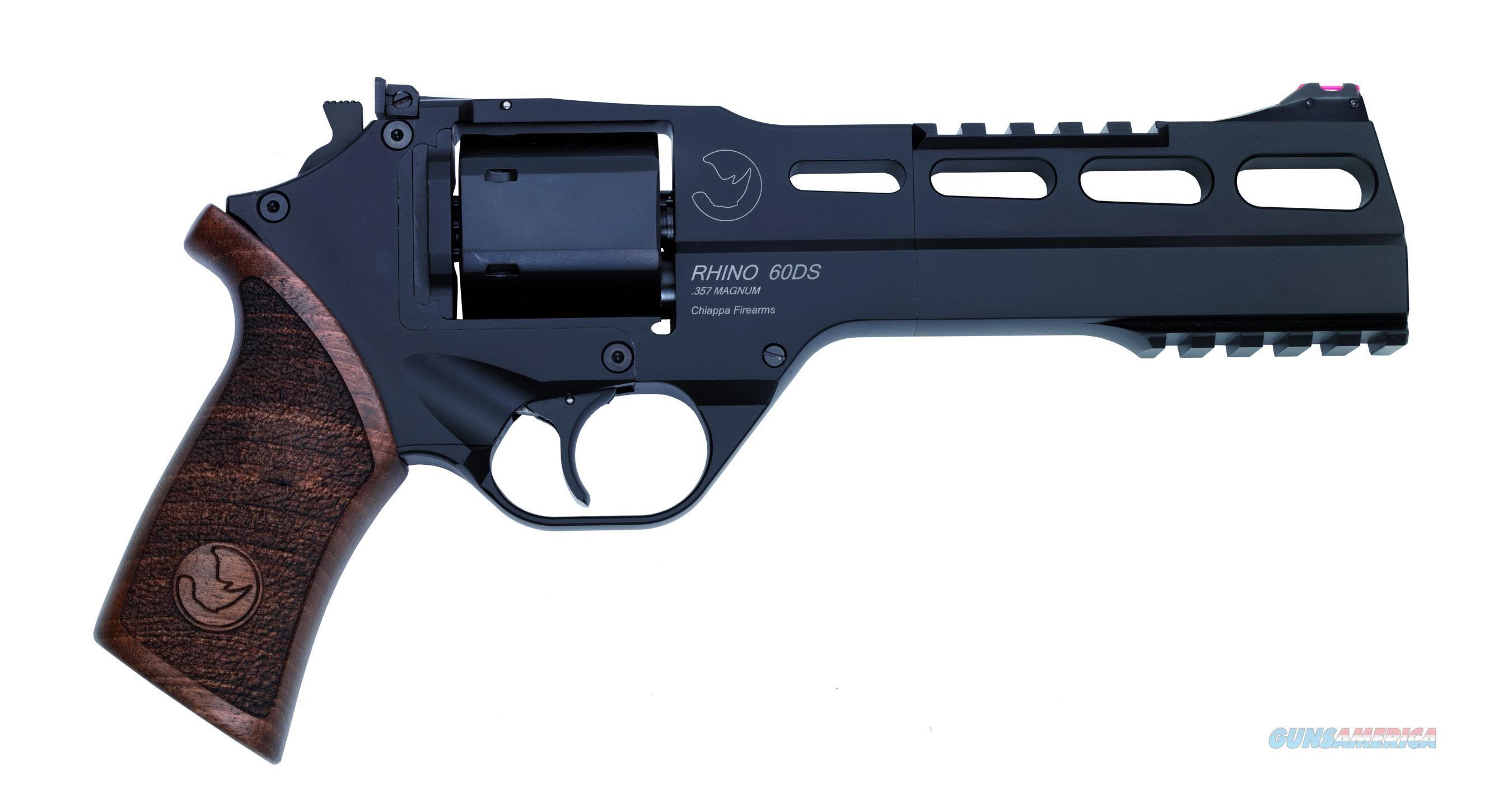 "Chiappa Rhino 60 DS Revolver .357 Magnum 6"" Black 340.221   Guns > Pistols > Chiappa Pistols & Revolvers > Rhino Models"