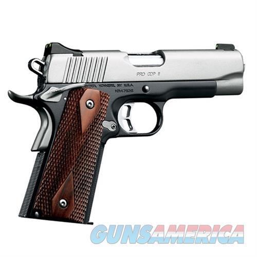 "Kimber Pro CDP II 9mm 4"" Black/Silver 9Rds 3200322   Guns > Pistols > Kimber of America Pistols > 1911"