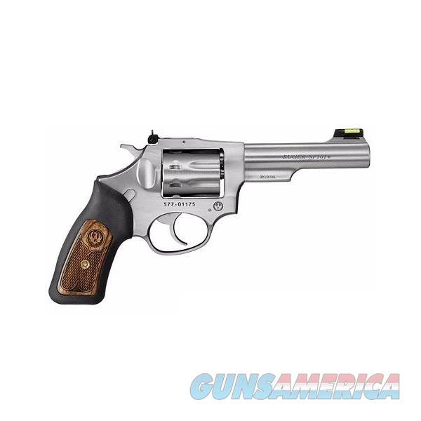 "Ruger SP101 4.2"" Stainless Double-Action .22 LR 5765  Guns > Pistols > Ruger Double Action Revolver > SP101 Type"