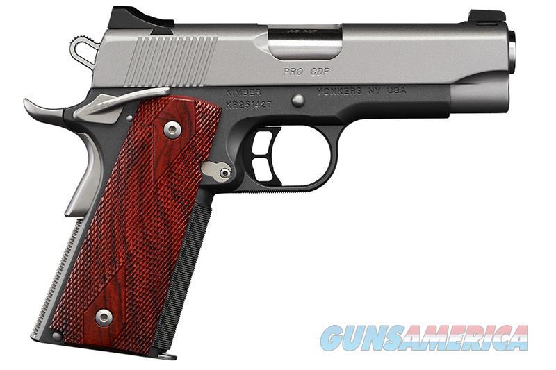 "Kimber Pro CDP 9mm 1911 4"" Gray/Silver NS 3000258   Guns > Pistols > Kimber of America Pistols > 1911"