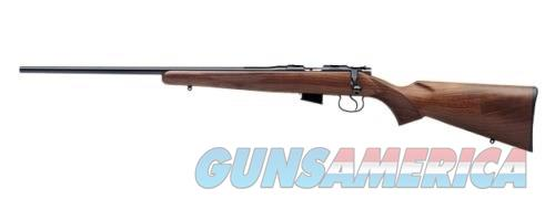 CZ-USA CZ 452 AMERICAN LEFT-HAND WALNUT .22 LR  02017  Guns > Rifles > CZ Rifles