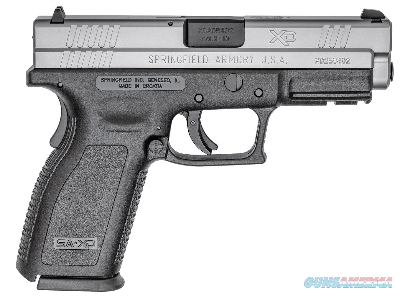 Springfield XD Package Bi-Tone 9mm Luger XD9301HCSP06  Guns > Pistols > Springfield Armory Pistols > XD (eXtreme Duty)