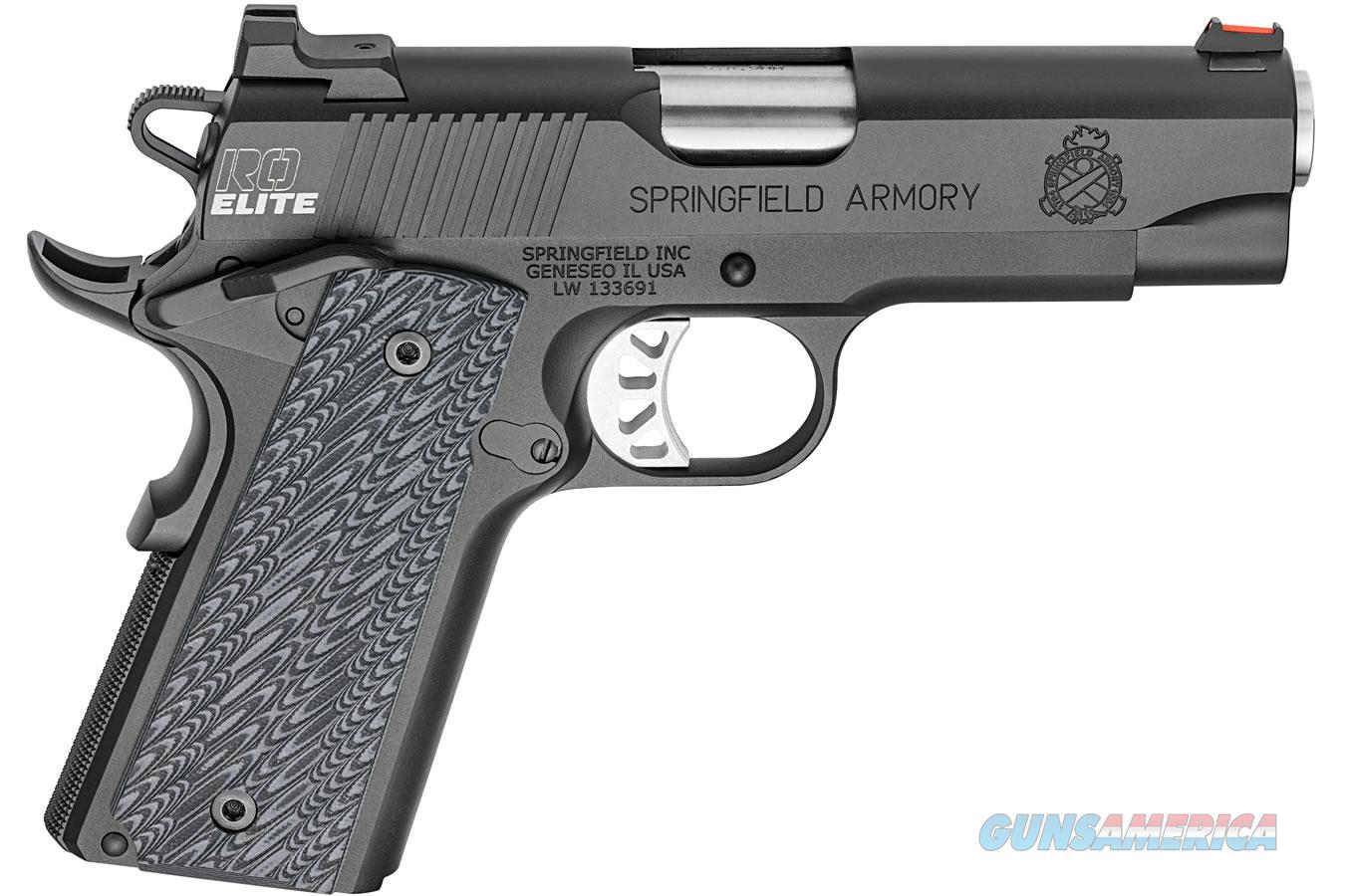 "Springfield 1911 Range Officer Elite Champion 9mm 4"" PI9137E   Guns > Pistols > Springfield Armory Pistols > 1911 Type"