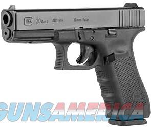"""Glock G20 Gen4 10mm 4.61"""" 15 Rds Black PG2050203   Guns > Pistols > Glock Pistols > 20/21"""
