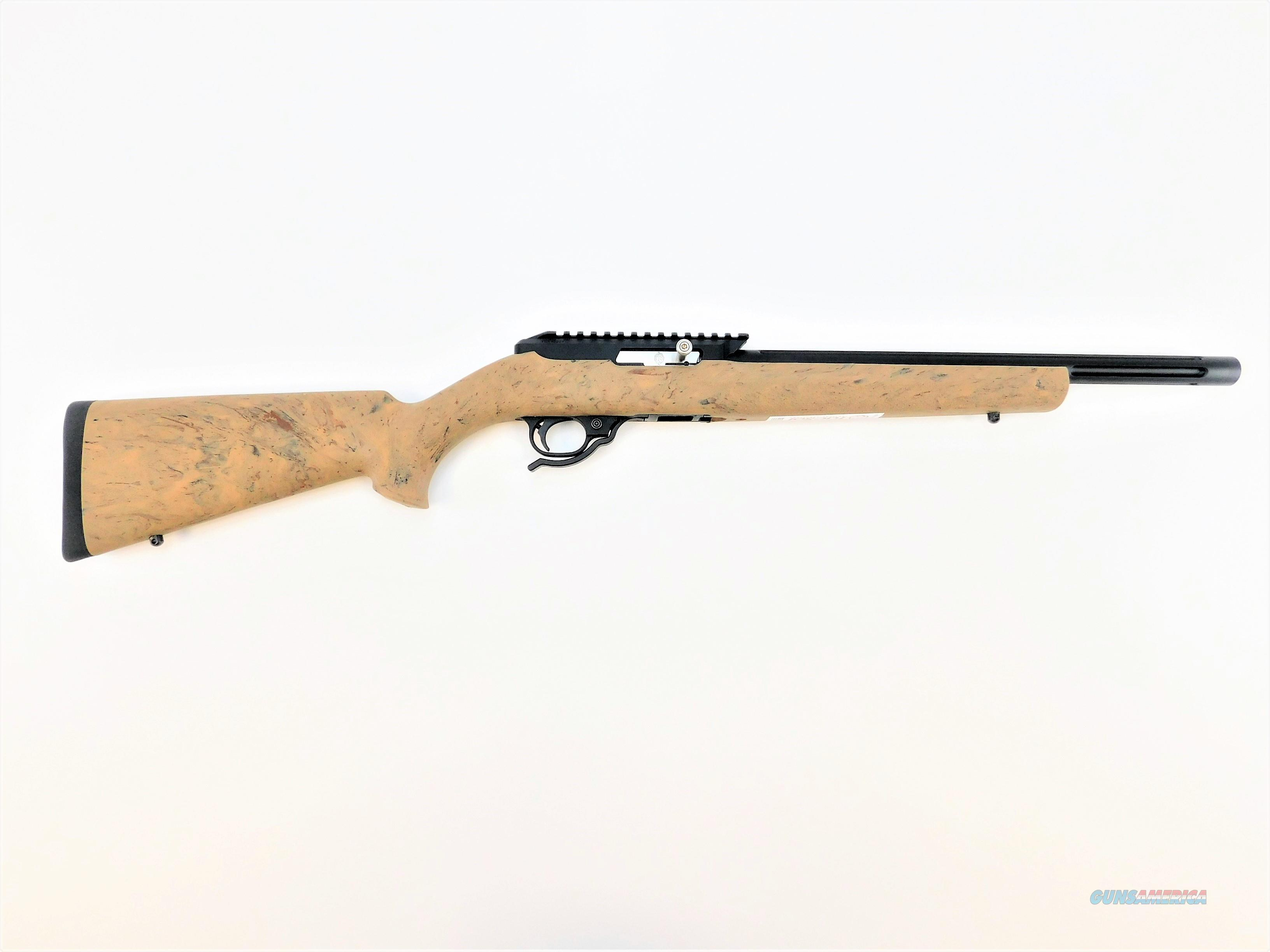 TACTICAL SOLUTIONS X-RING RIFLE HOGUE GTAN MATTE BLACK 10/22 .22LR TE-MB-B-H-GTAN   Guns > Rifles > Ruger Rifles > 10-22