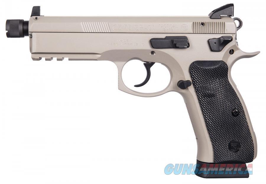 "CZ-USA CZ 75 SP-01 TACTICAL URBAN GREY 9MM 5.21"" TB 91253   Guns > Pistols > CZ Pistols"