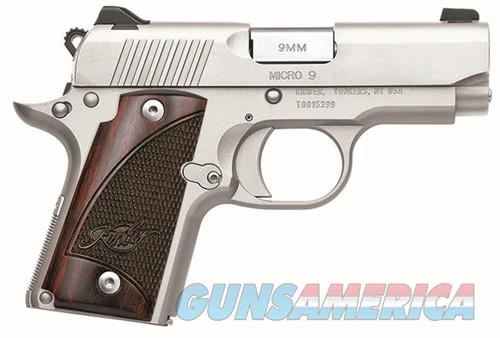 """Kimber Micro 9 Stainless 9mm Compact 3.15"""" 6 Rds 3300158   Guns > Pistols > Kimber of America Pistols > Micro 9"""