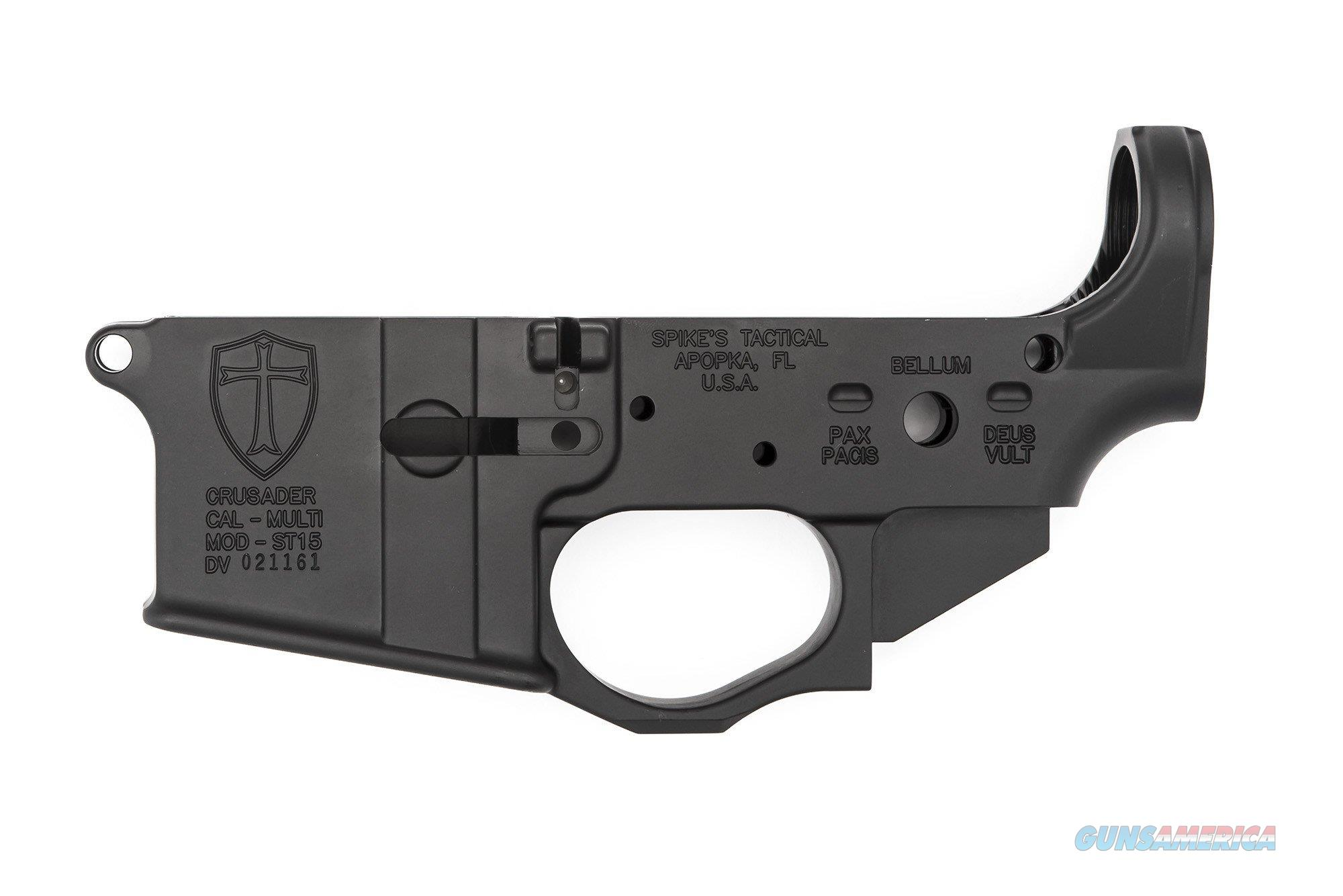 Spike's Tactical Crusader AR-15 Lower Receiver STLS022  Guns > Rifles > AR-15 Rifles - Small Manufacturers > Lower Only