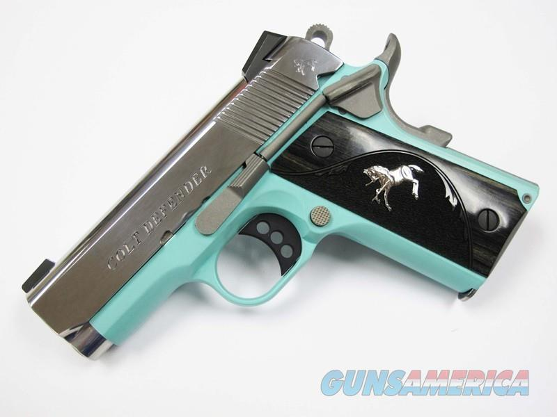 Colt 1911 Defender TALO 1 of 300 9MM O7002D-REB  Guns > Pistols > Colt Automatic Pistols (1911 & Var)