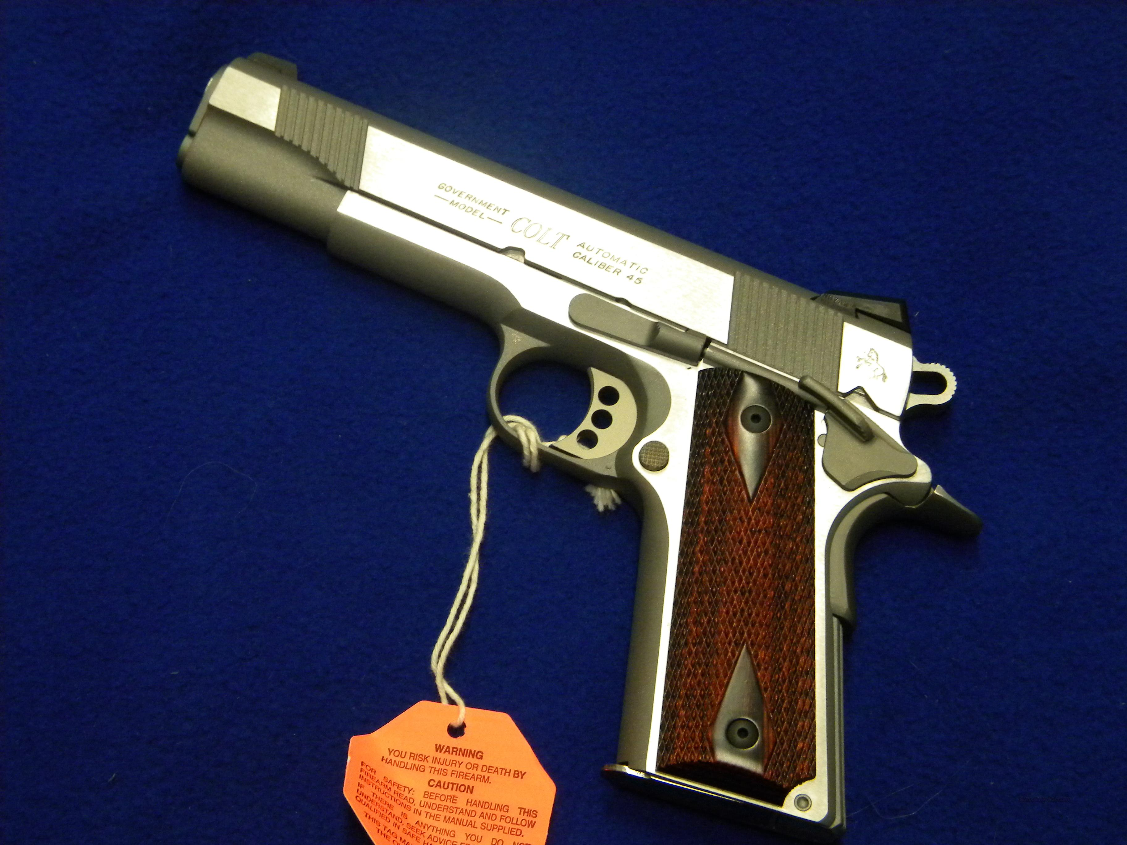 Colt 1911 Government Stainless Steel  Guns > Pistols > Colt Automatic Pistols (1911 & Var)